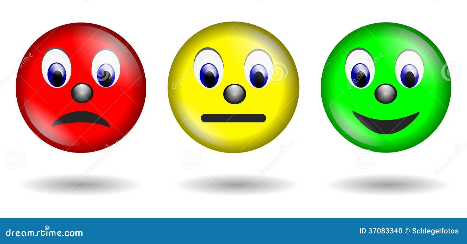 Smiley rojo del verde amarillo aislado stock de ilustraci n ilustraci n de muestra emoci n - Image sourire gratuit ...