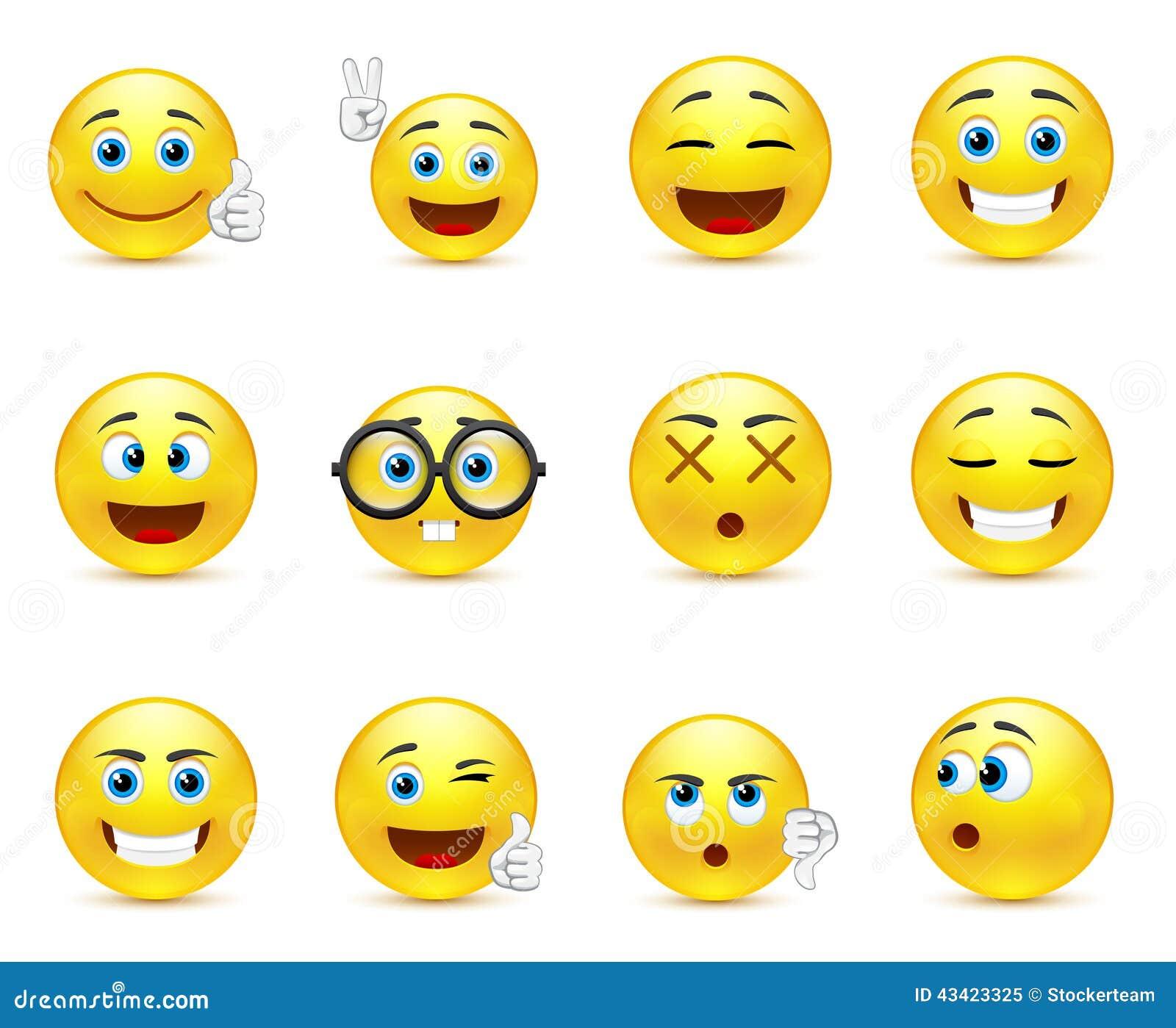 smileys ausdrucken
