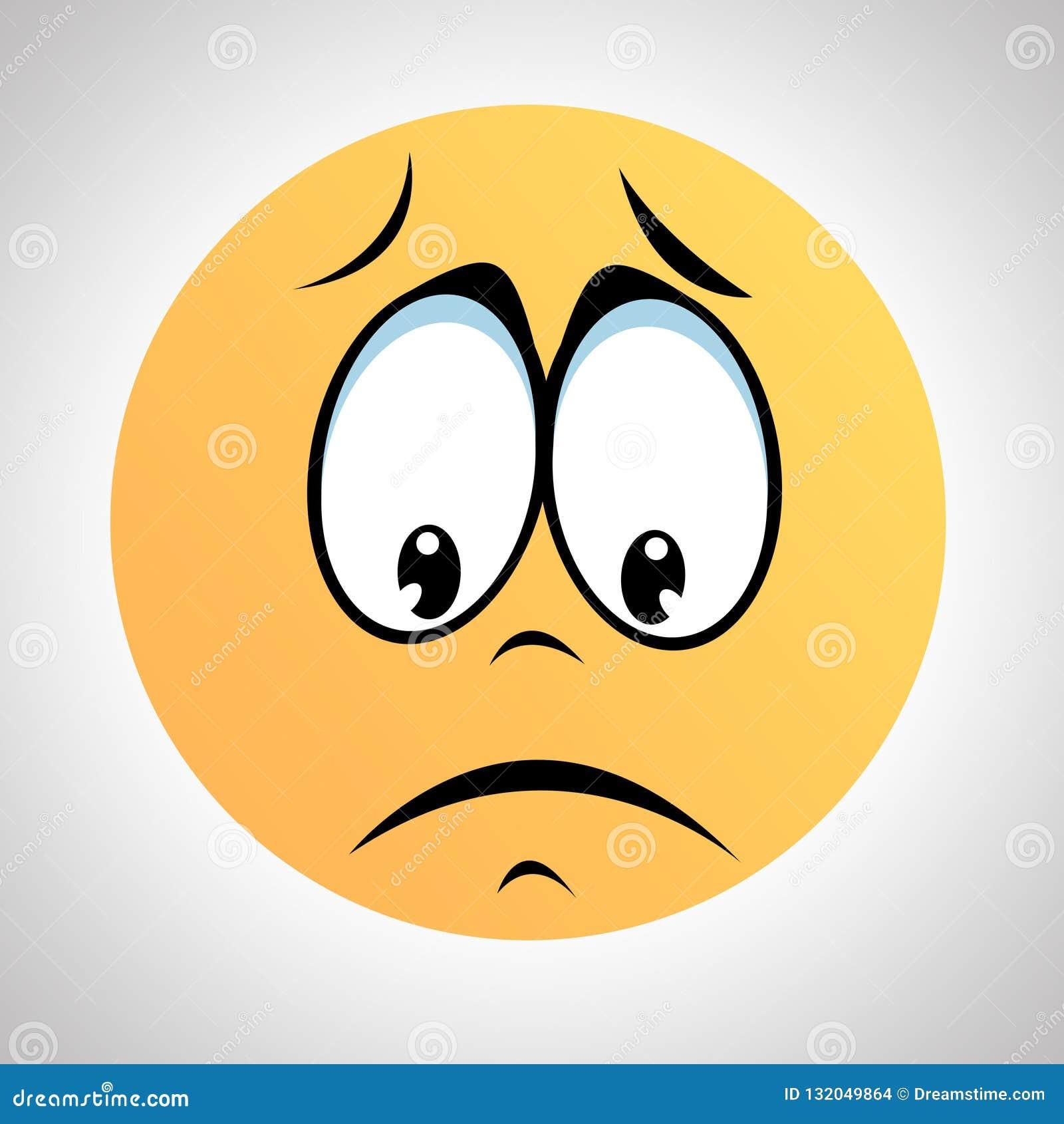 A Smiley type sad face