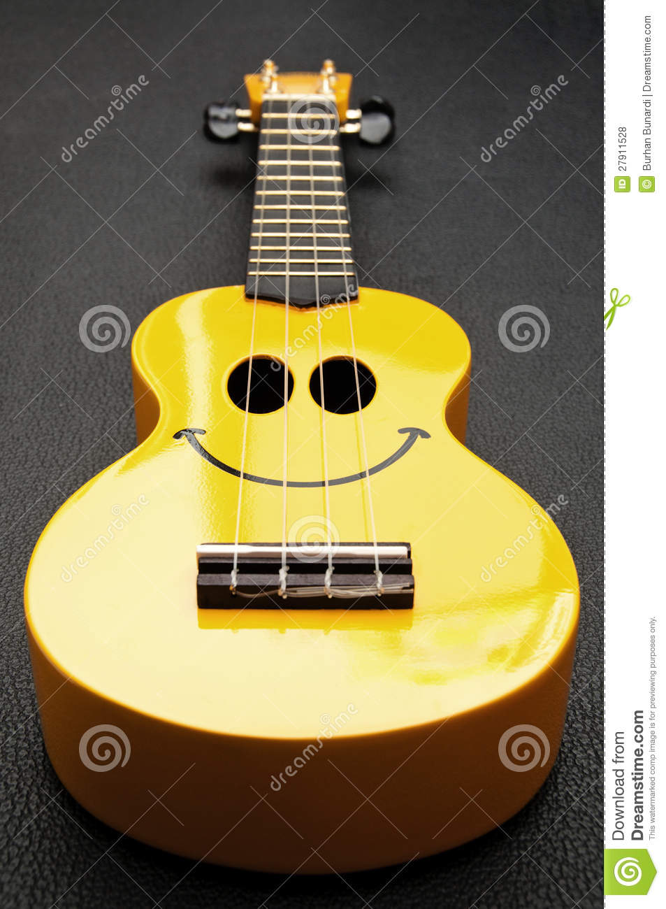 Smiley Ukulele Royalty Free Stock Photos Image 27911528