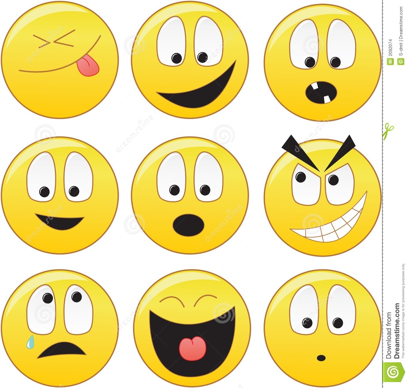 Cool Smiley Face Thumbs Up Smileys Stock Images -...