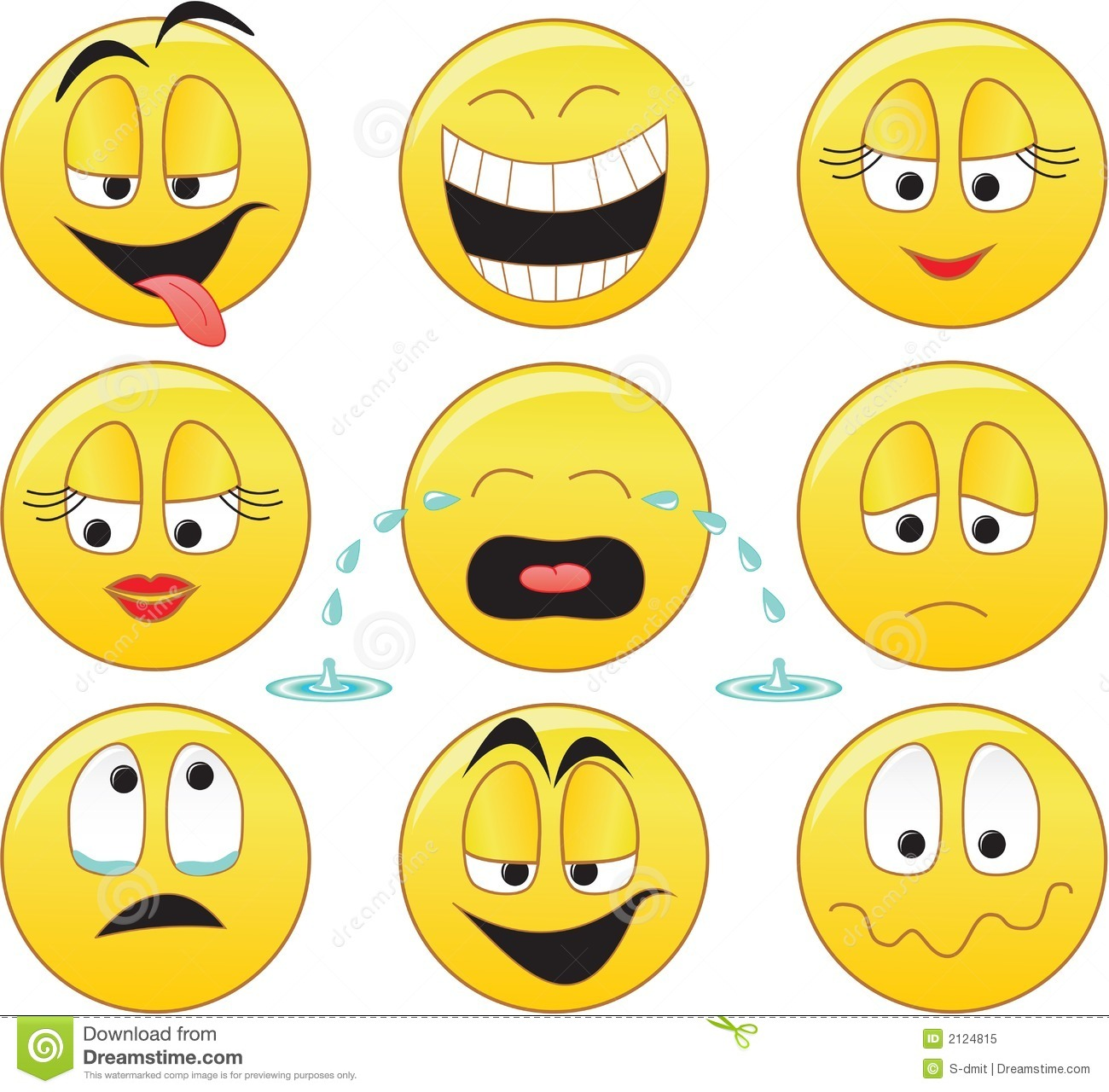 smileys stock vector image of face emotion head angry