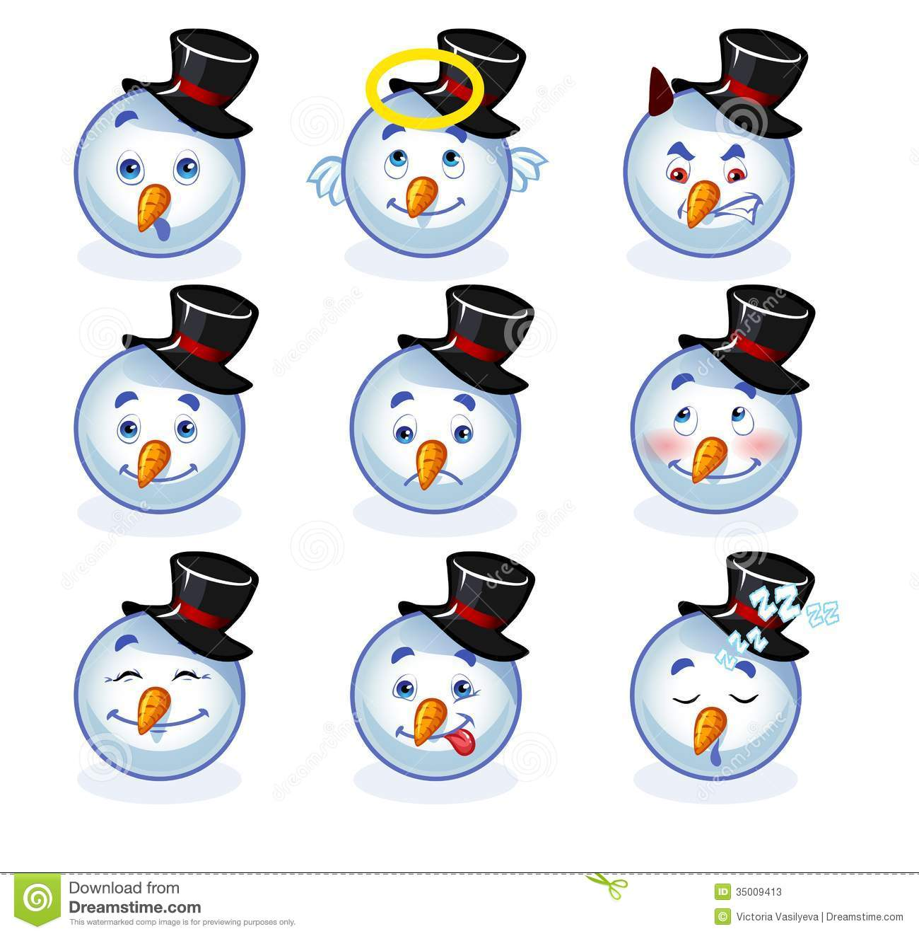 Cool Smiley Face Thumbs Up Smileys snowman stock ...