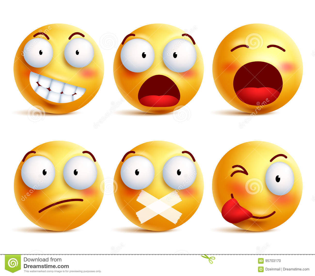 emoticons facial expressions