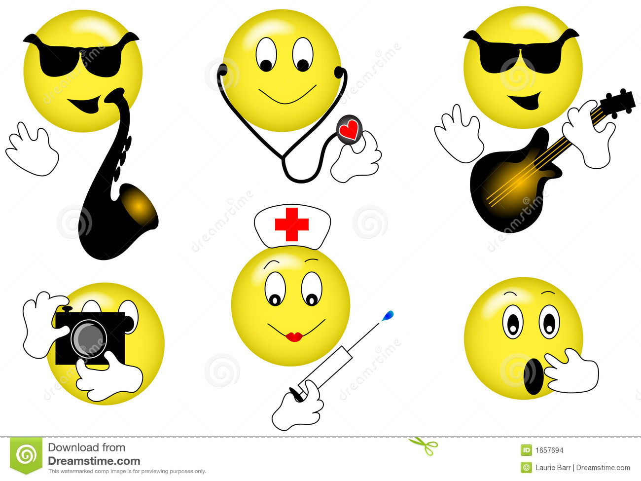 Smilies Stock Images Image 1657694