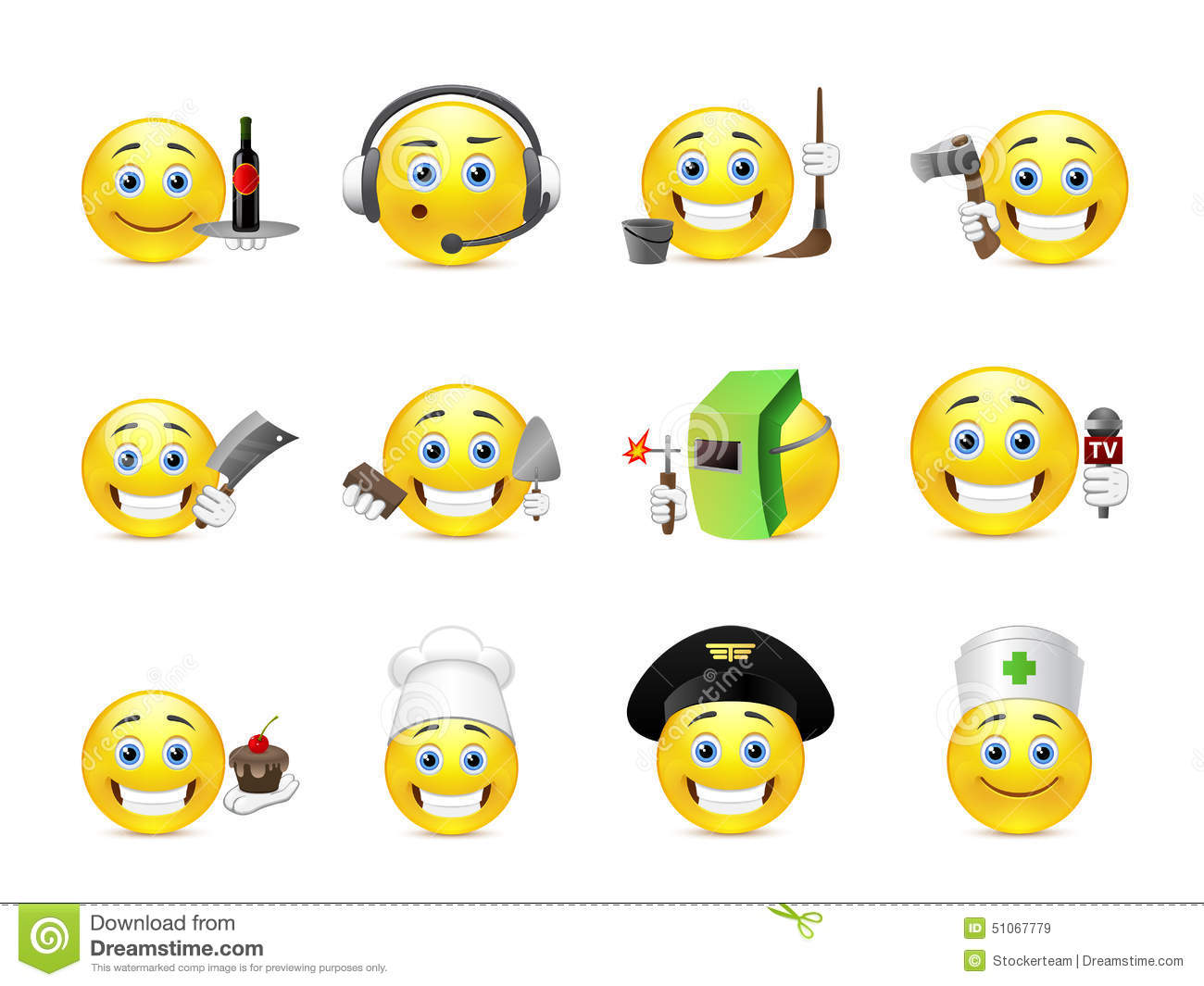Cool Smiley Face Thumbs Up Smilies Different Prof...