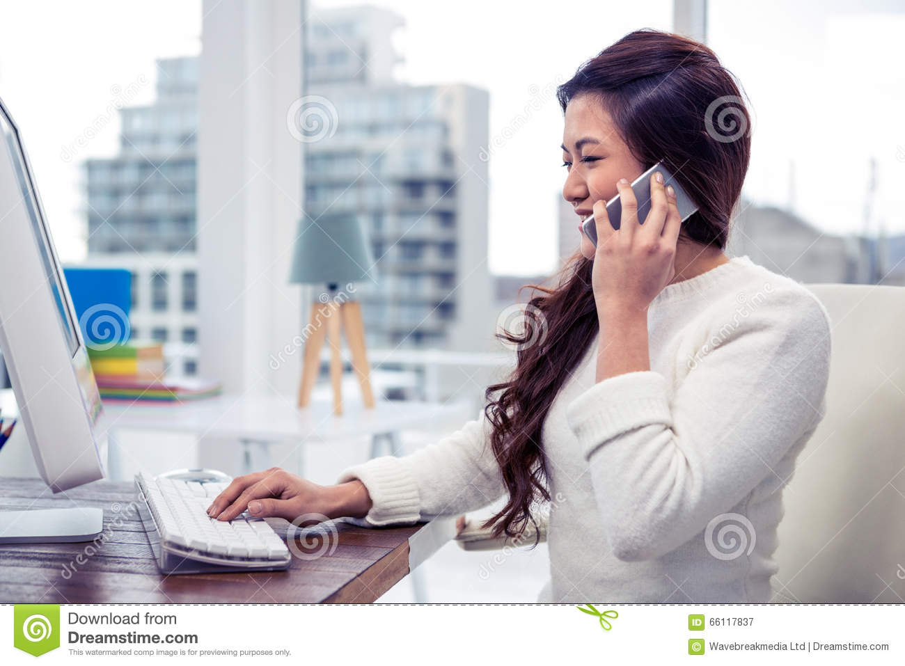 phone call from computer