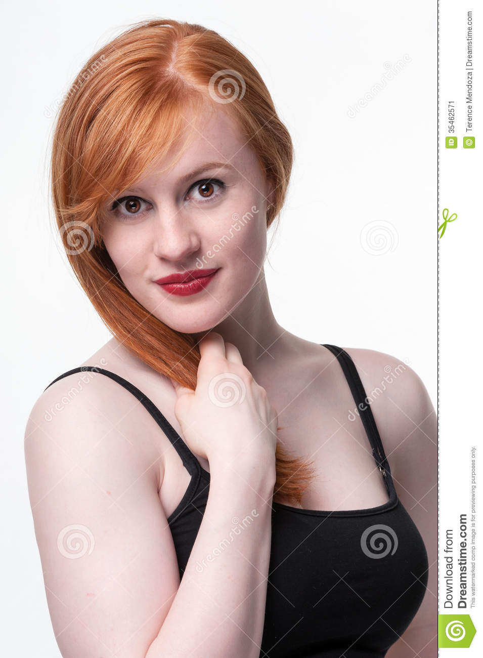 Redhead attractive photos