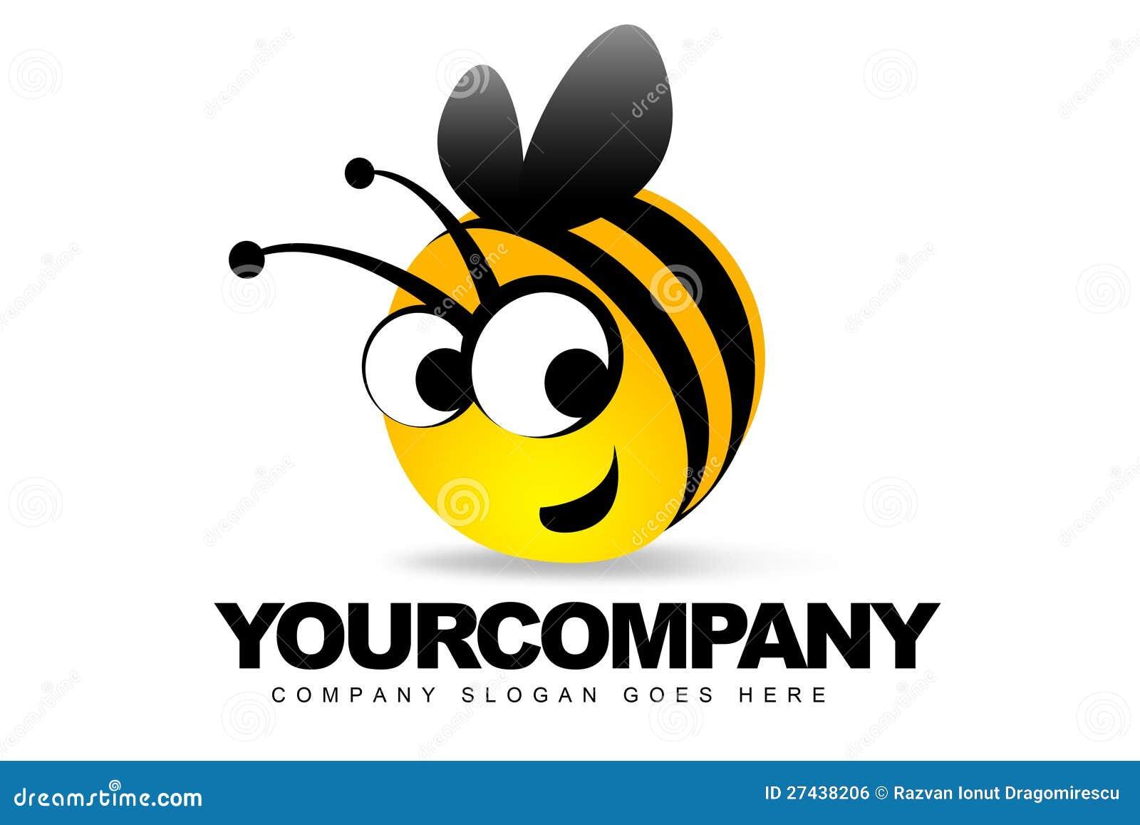 Smiling bee logo stock illustration illustration of style 27438206 royalty free stock photo biocorpaavc