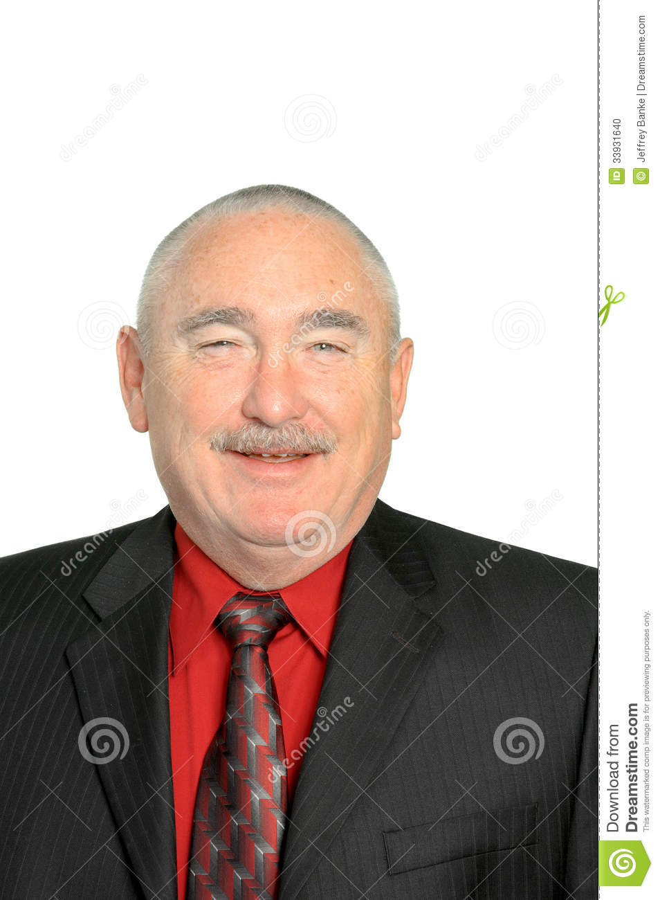 Smiling Businessman Stock Photo - Image: 33931640