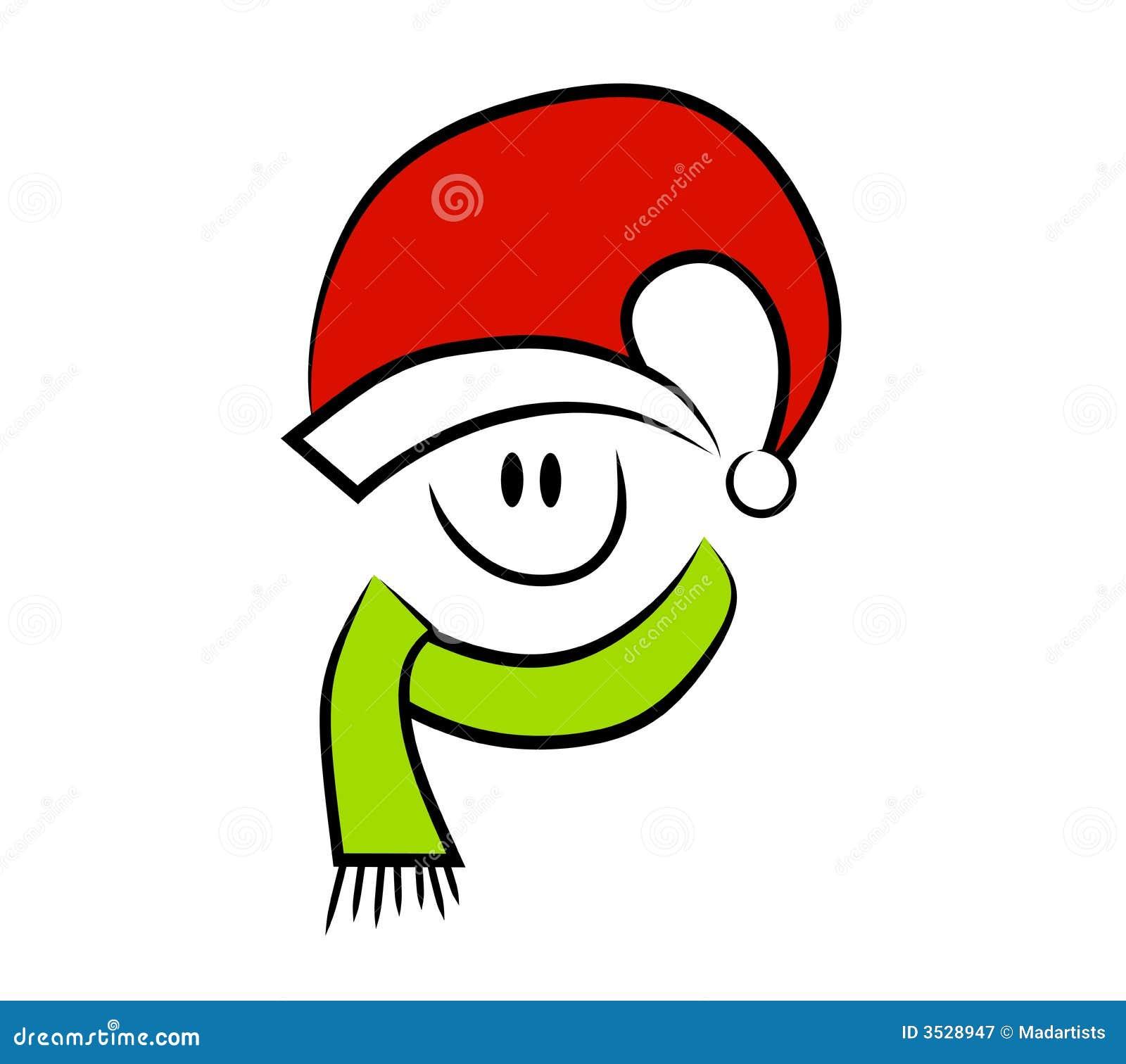 clip art christmas smiley face - photo #28