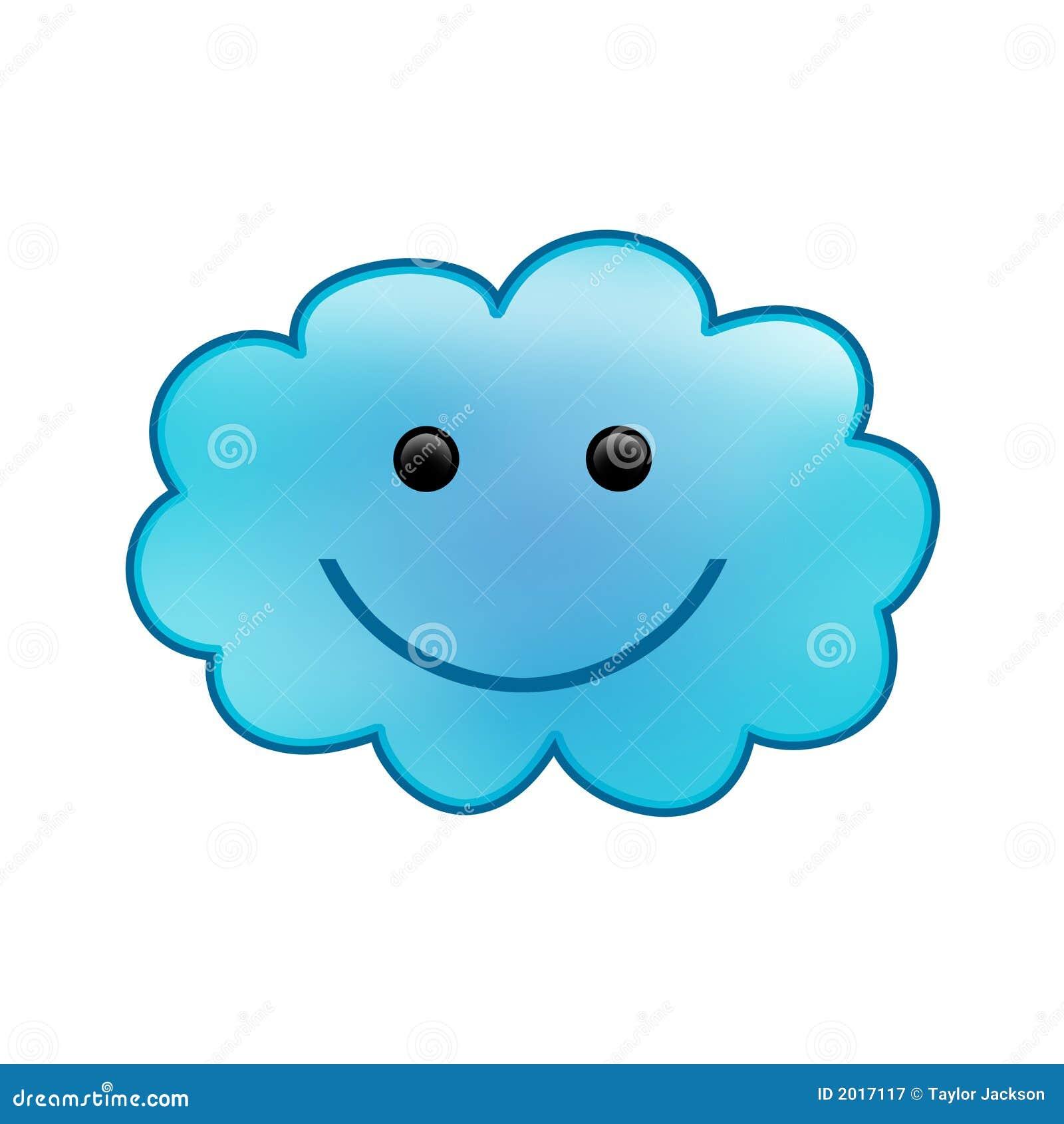 Smiling Cloud Stock Illustration Illustration Of Meteorology 2017117