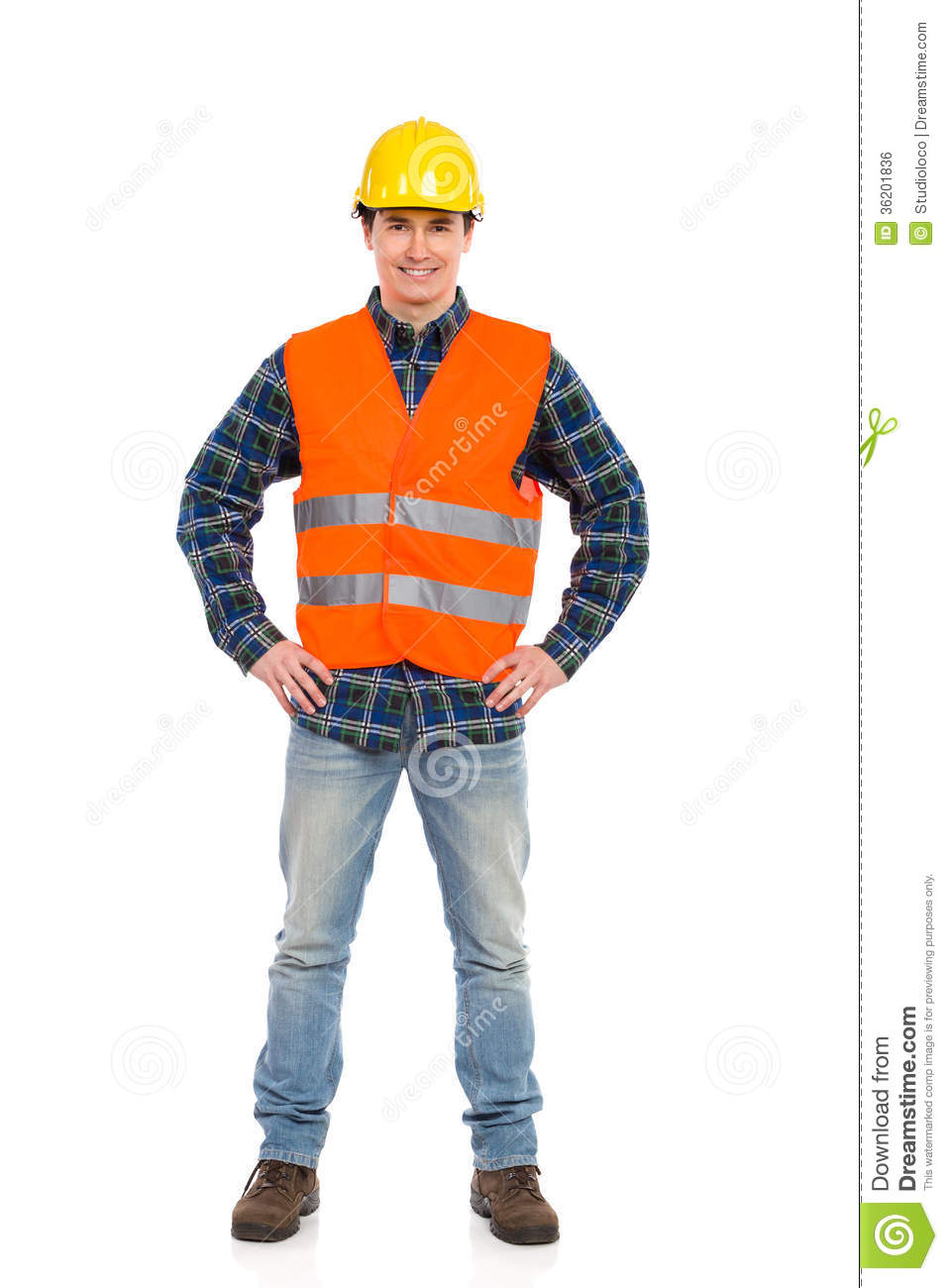 smiling construction worker posing stock photo image of 24