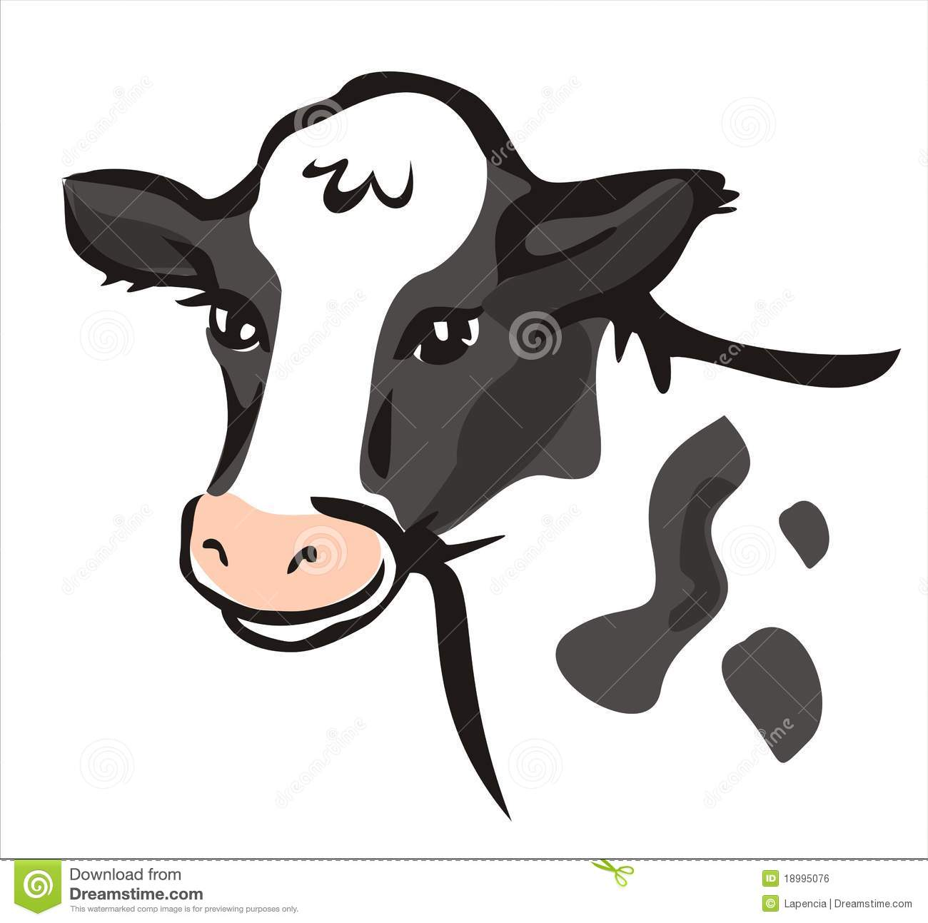 cow clipart simple - photo #8