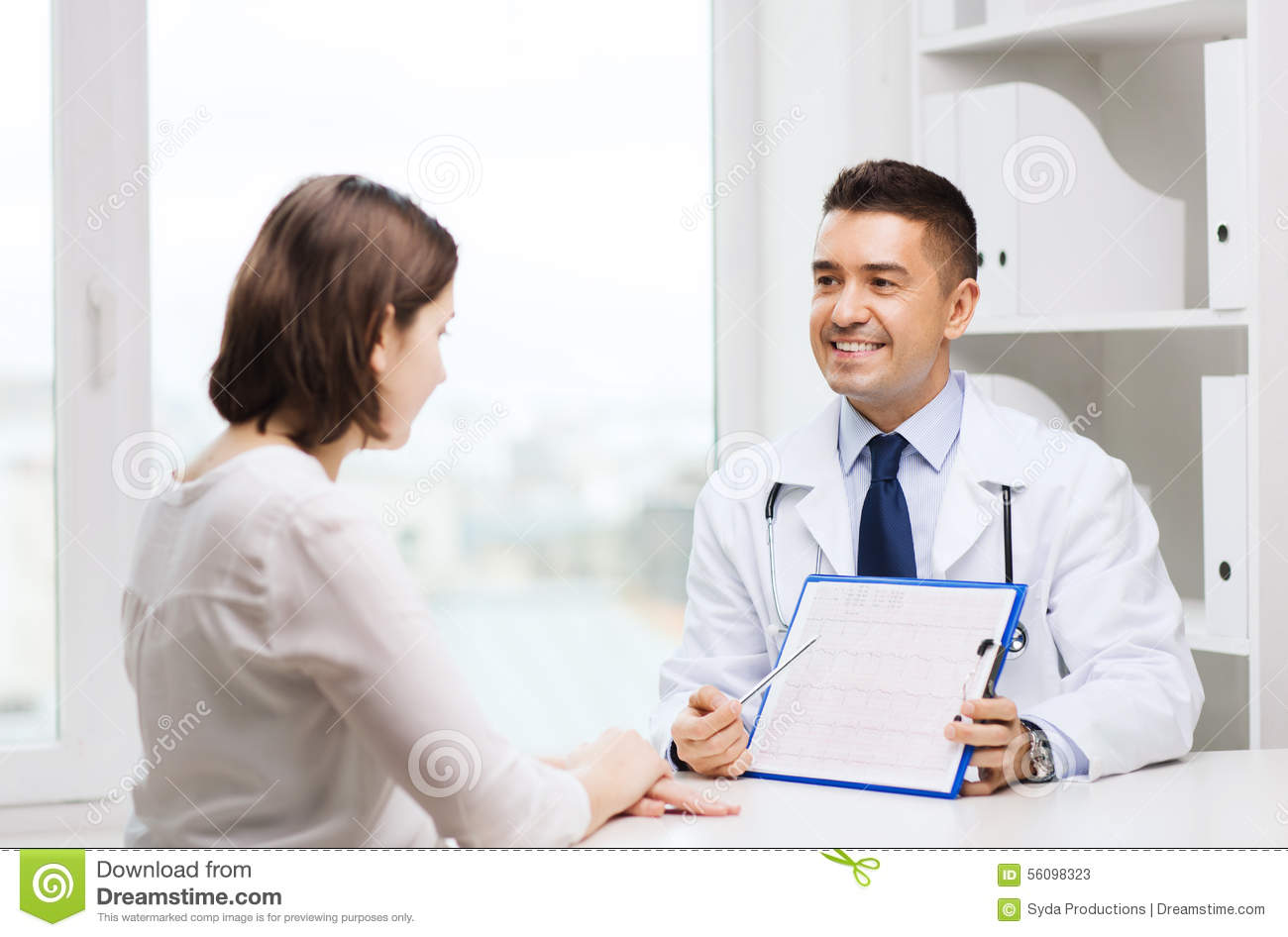 Perfect Consulting In The Doctors Cabinet