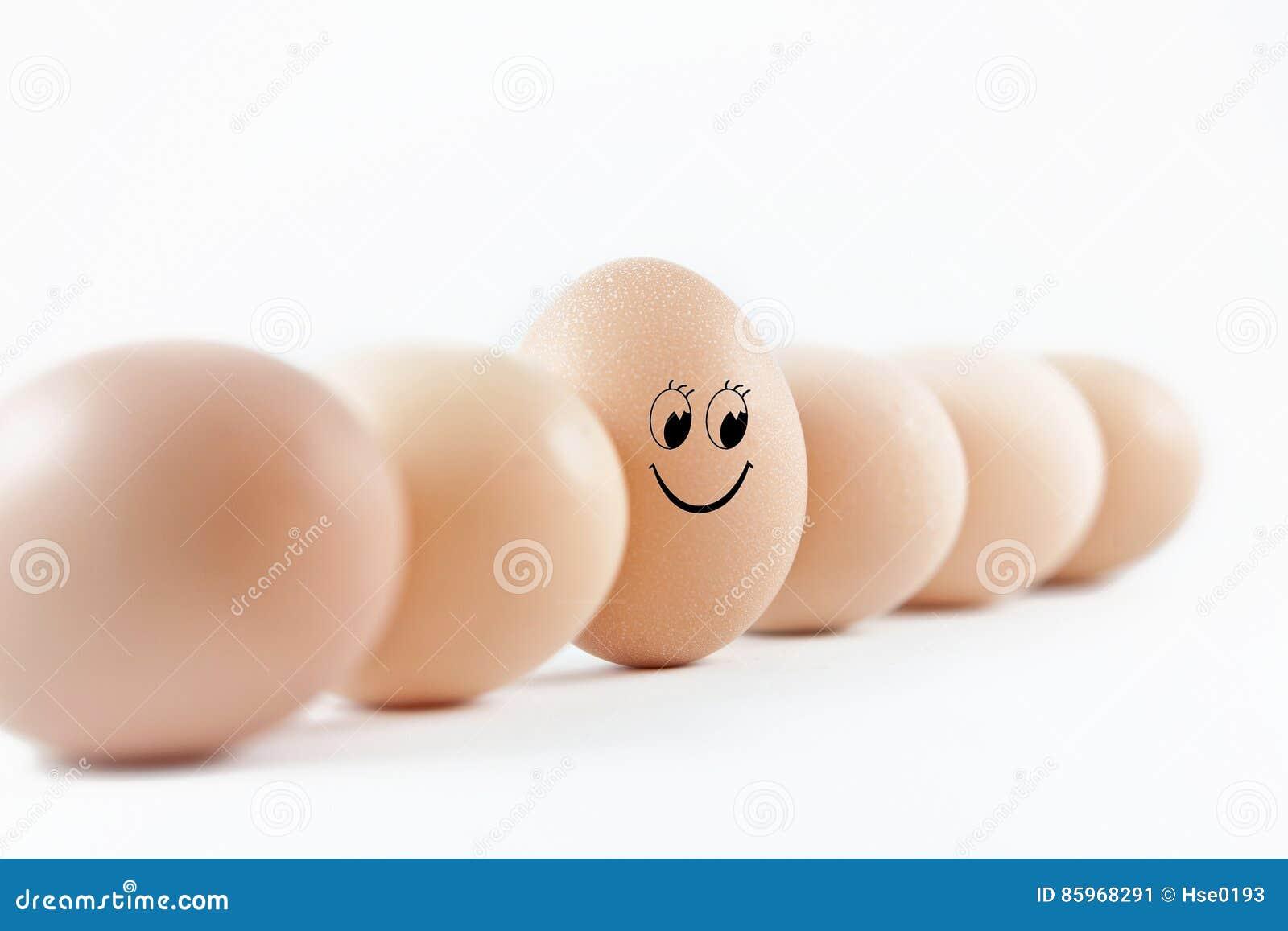 Smiling egg