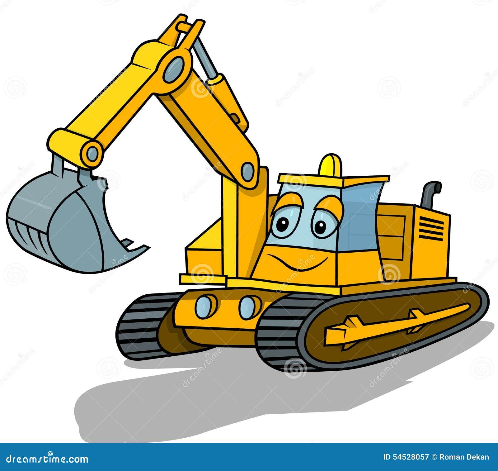 Smiling Excavator