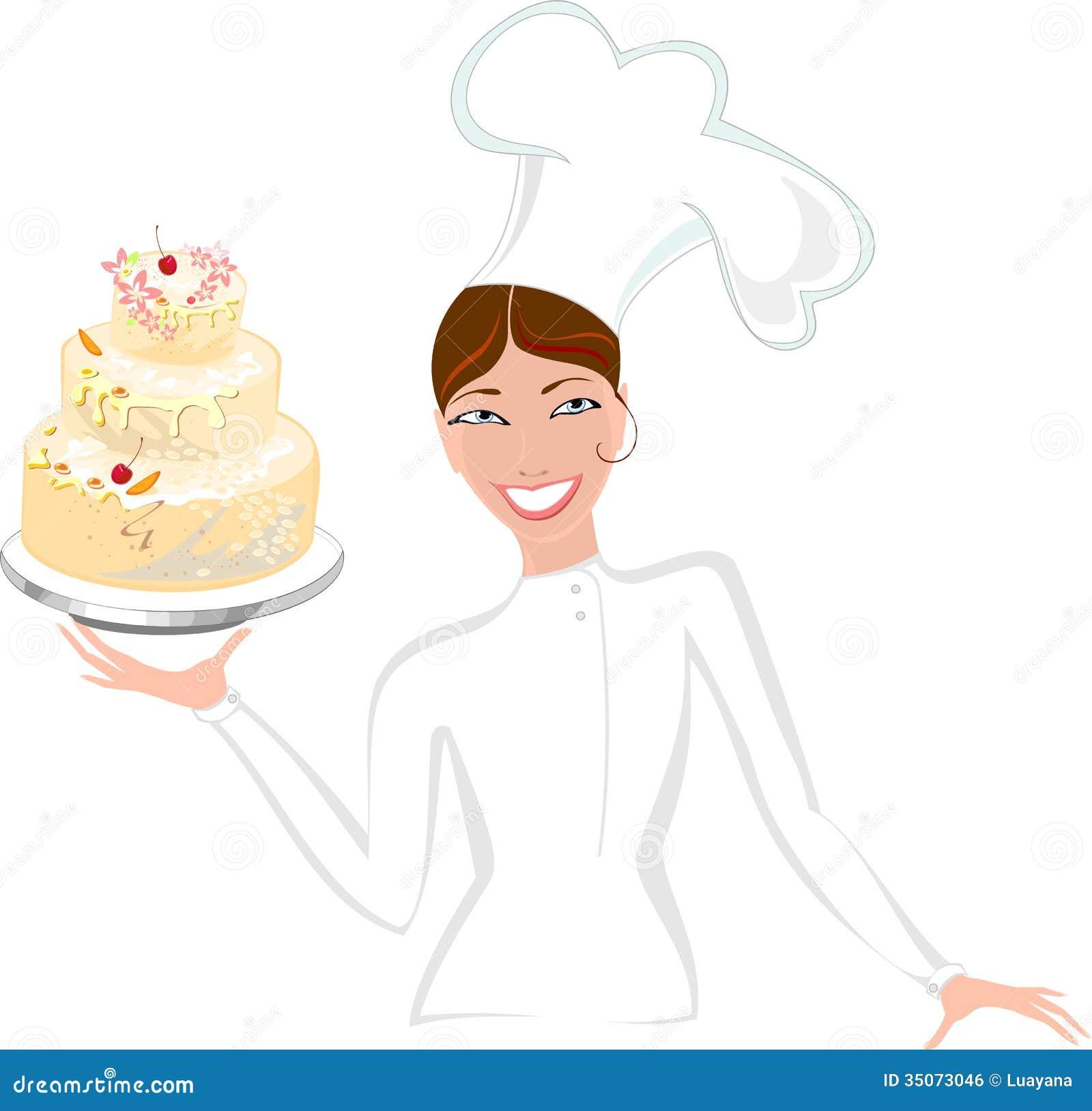 Cake Cartoon Images Black And White