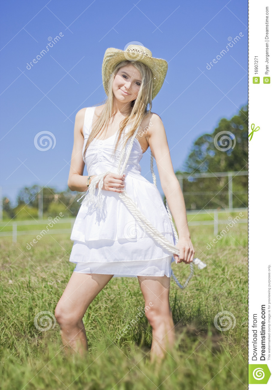 Smiling Female Farmer Stock Image Image Of Human