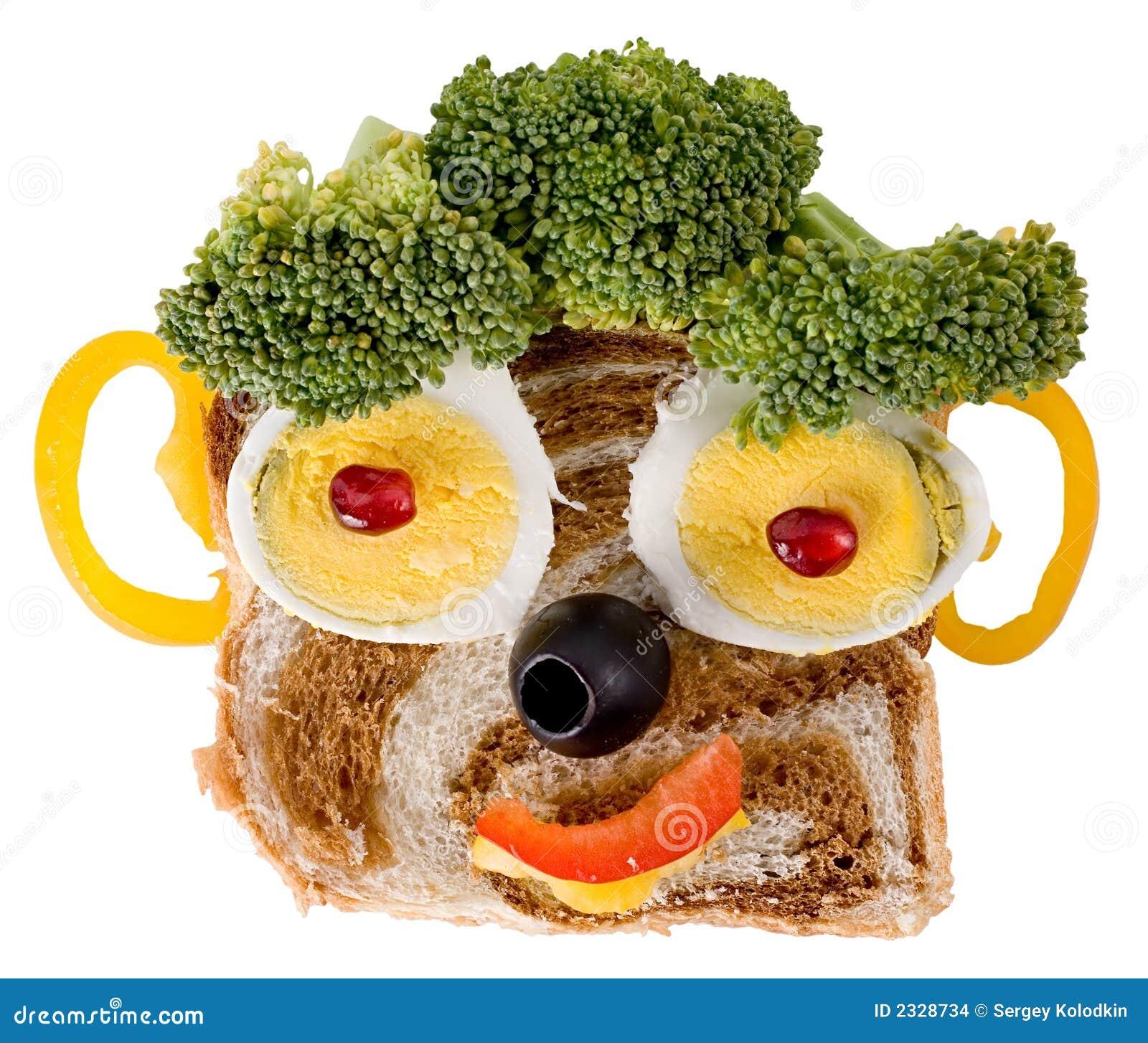 smiling food face stock photo image of glad head satisfied 2328734. Black Bedroom Furniture Sets. Home Design Ideas