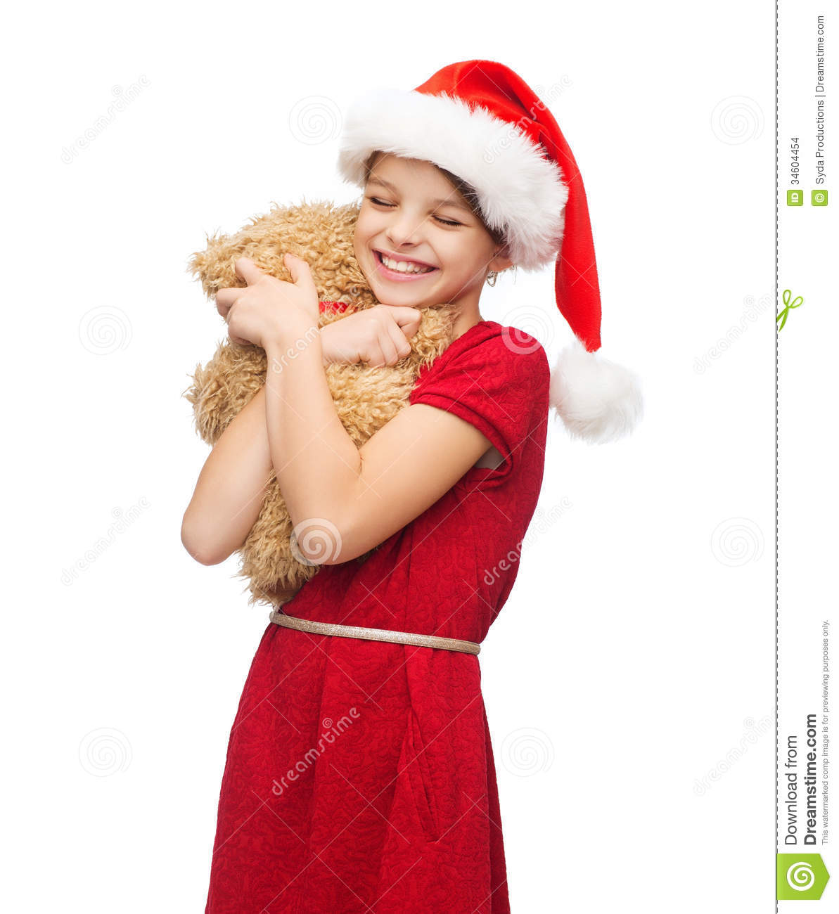 Christmas Teddy Bear Smiling Free Commercial Downloads Of Stock