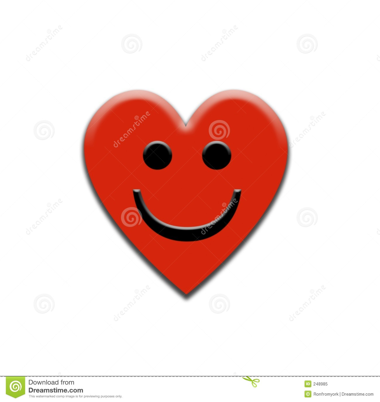Smiling Heart Royalty Free Stock Photo - Image: 248985