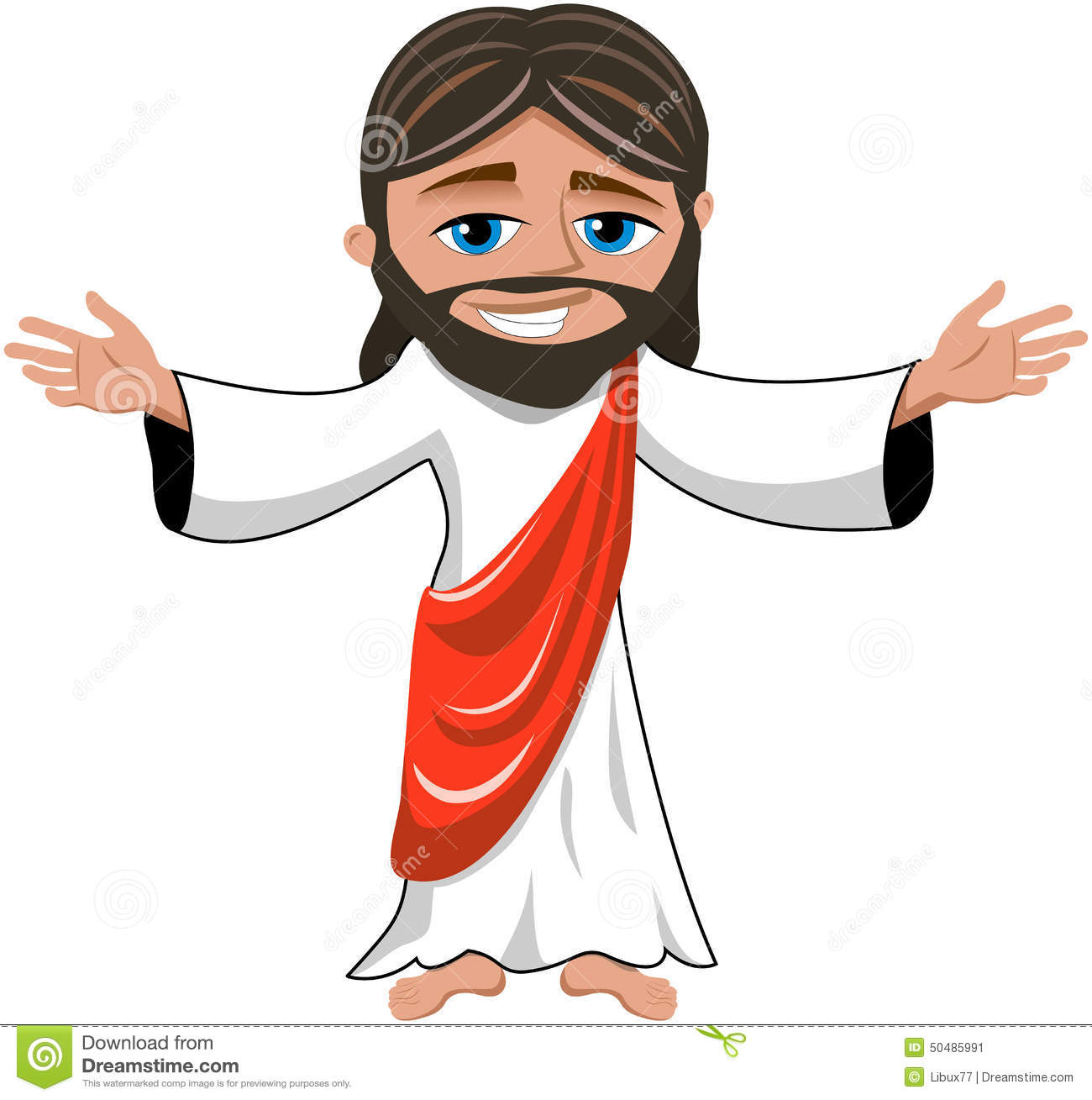 clipart cartoon jesus - photo #38