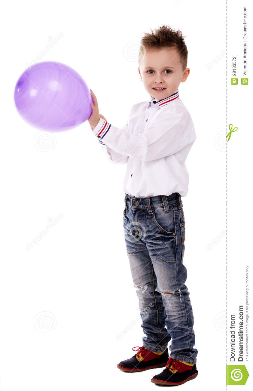 google images little boy holding balloon
