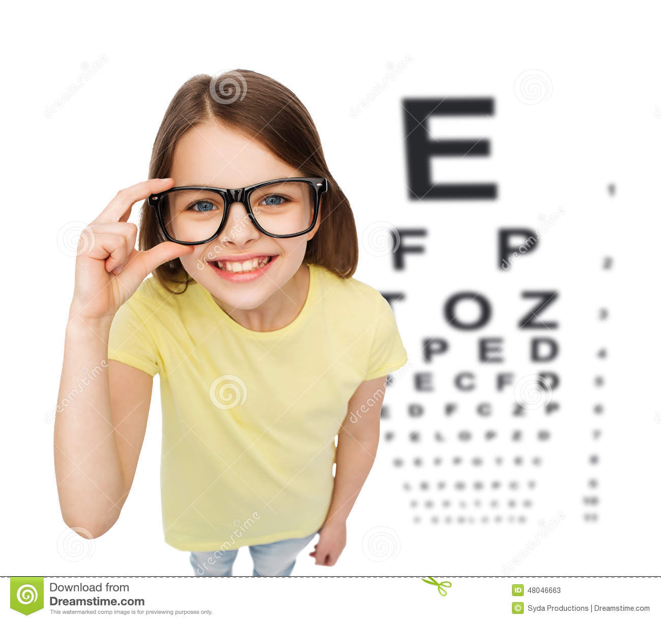 Sunglasses Clipart Black And White Smiling Little Girl In...