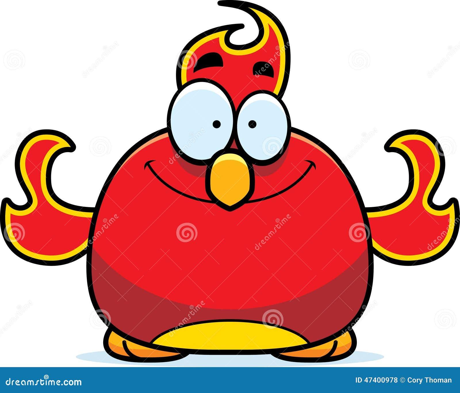smiling little phoenix stock vector   image 47400978