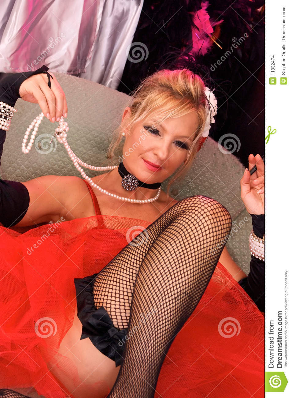 ... elf or mrs. claus for christmas, looking directly at viewer. Shot with