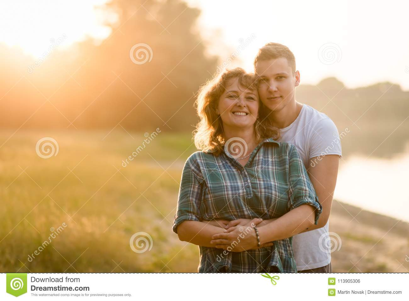 Mature Woman And Son