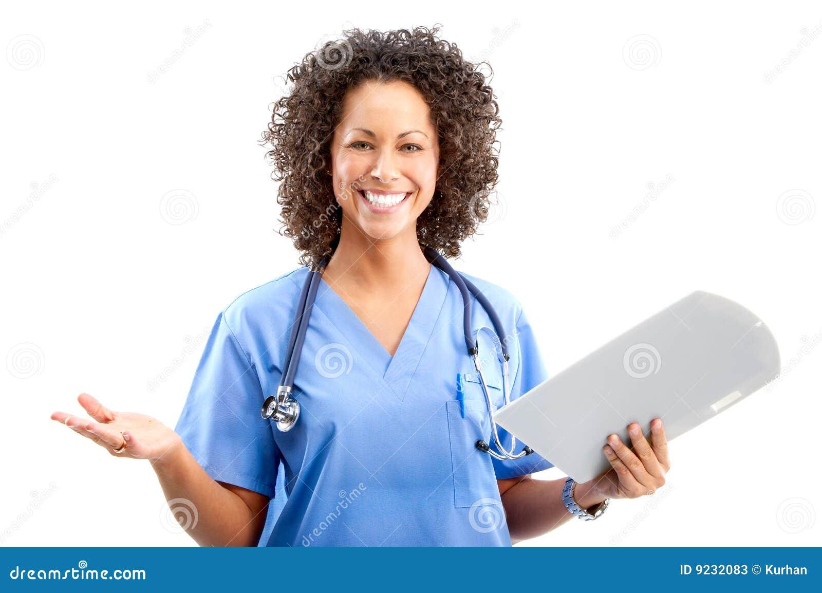 Smiling Nurse Stock Photo - Download Image Now - iStock