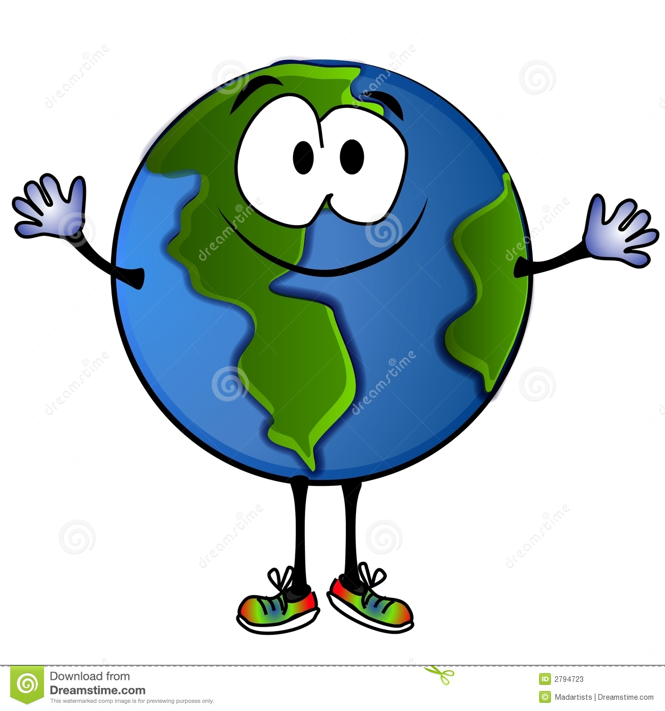Planets clipart for kids green planet clip art image - Smiling Planet Earth Stock Photos Image 2794723