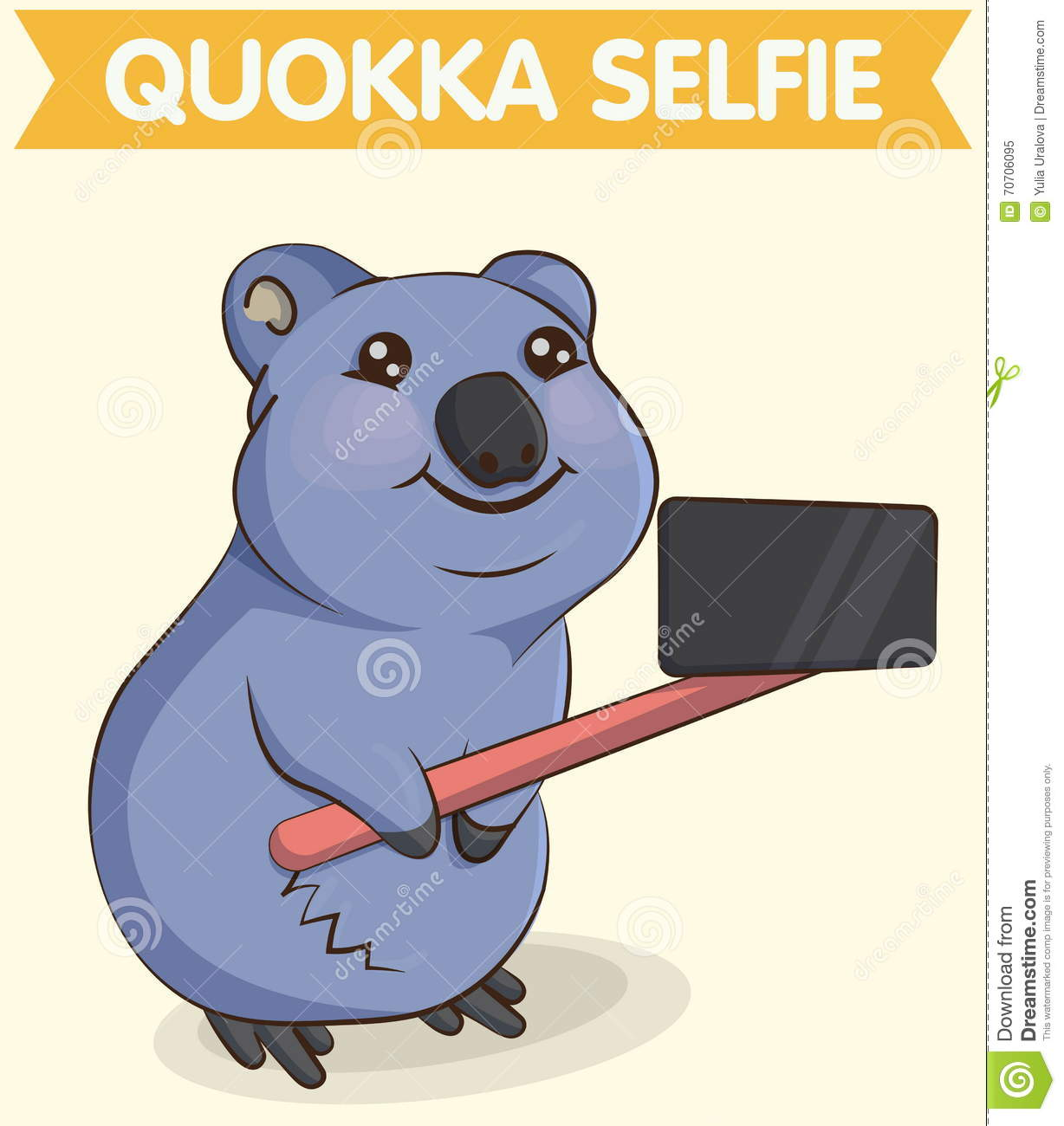 Cartoon Quokka. Coloring Book And Dot To Dot Game For Kids