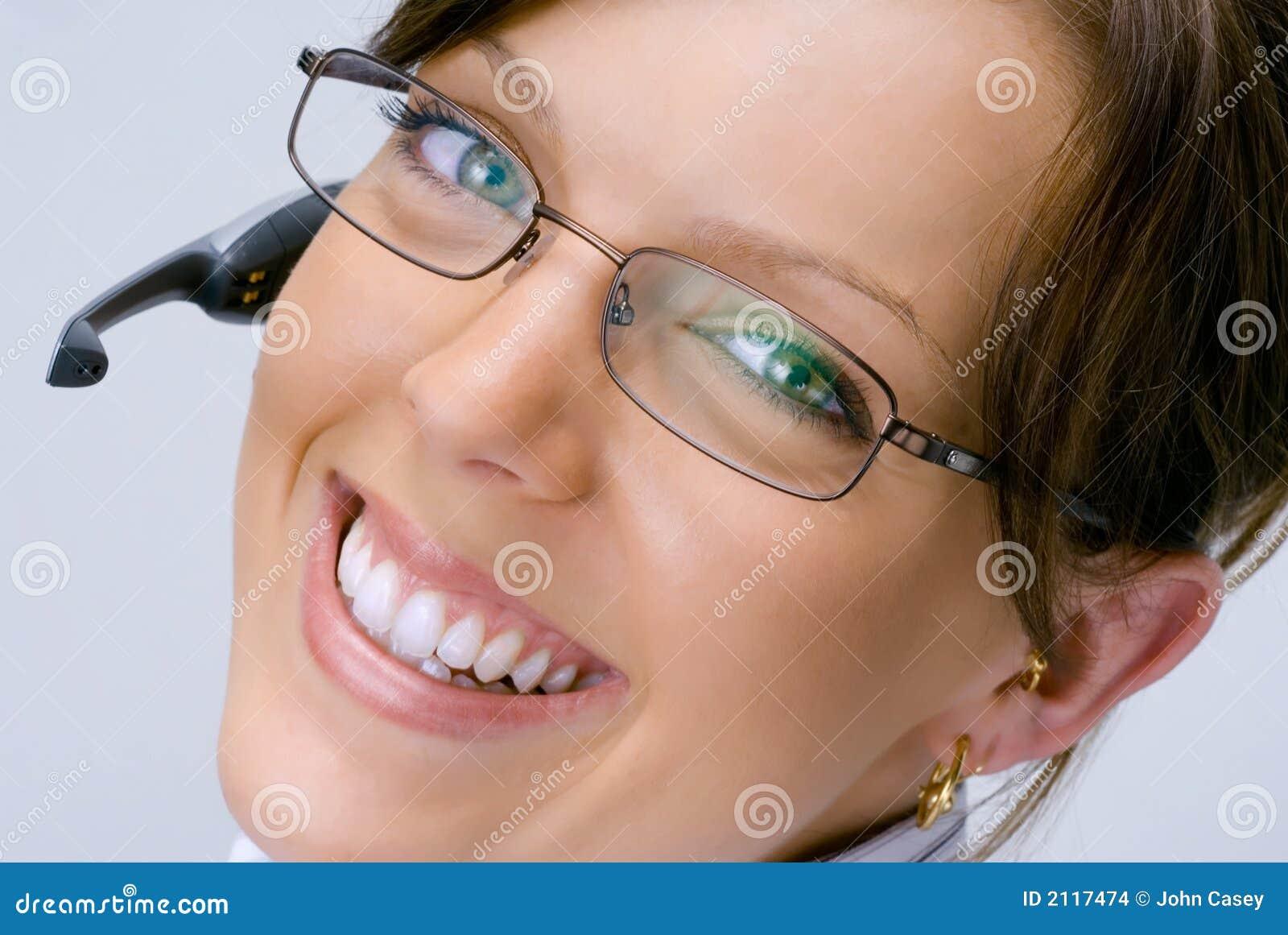 Smiling Receptionist #2
