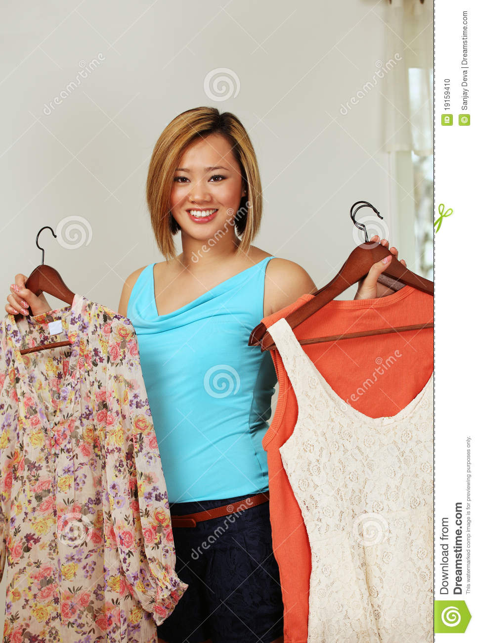 smiling shop assistant stock photo image  smiling shop assistant