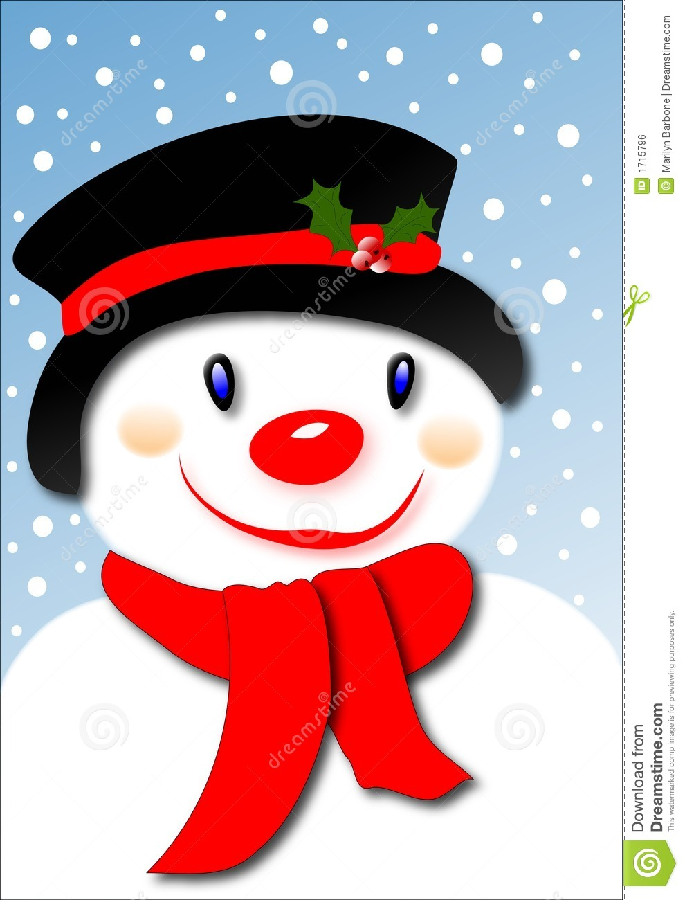 smiling snowman stock vector  image of smiling  snowman