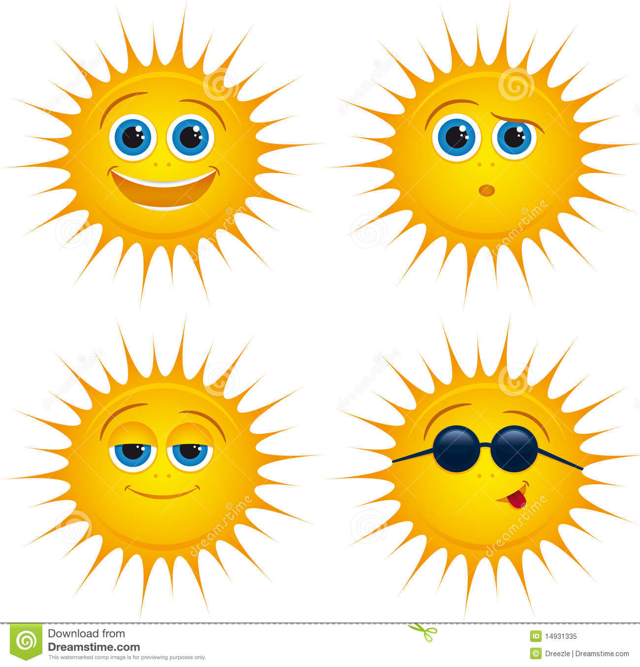 Smiling sun with sunglasses - Smiling Sun Icons With Sunglasses