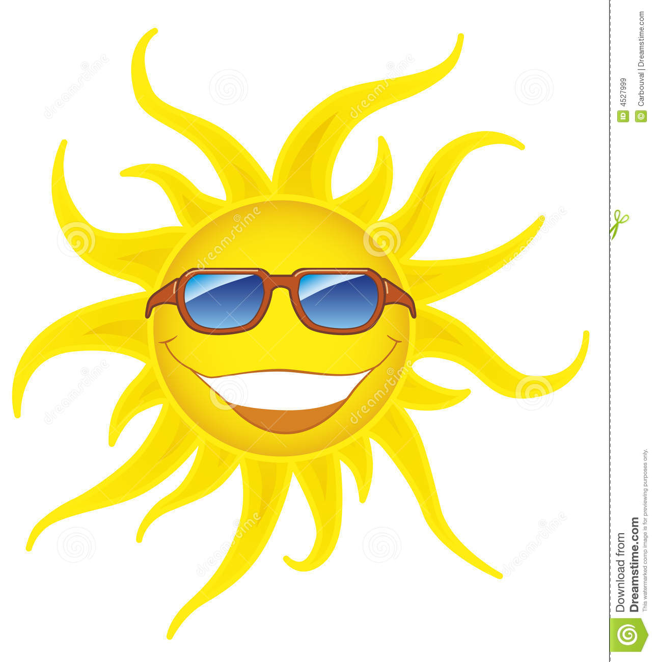 Smiling sun with sunglasses - Royalty Free Stock Photo Download Smiling Sun With Sunglasses