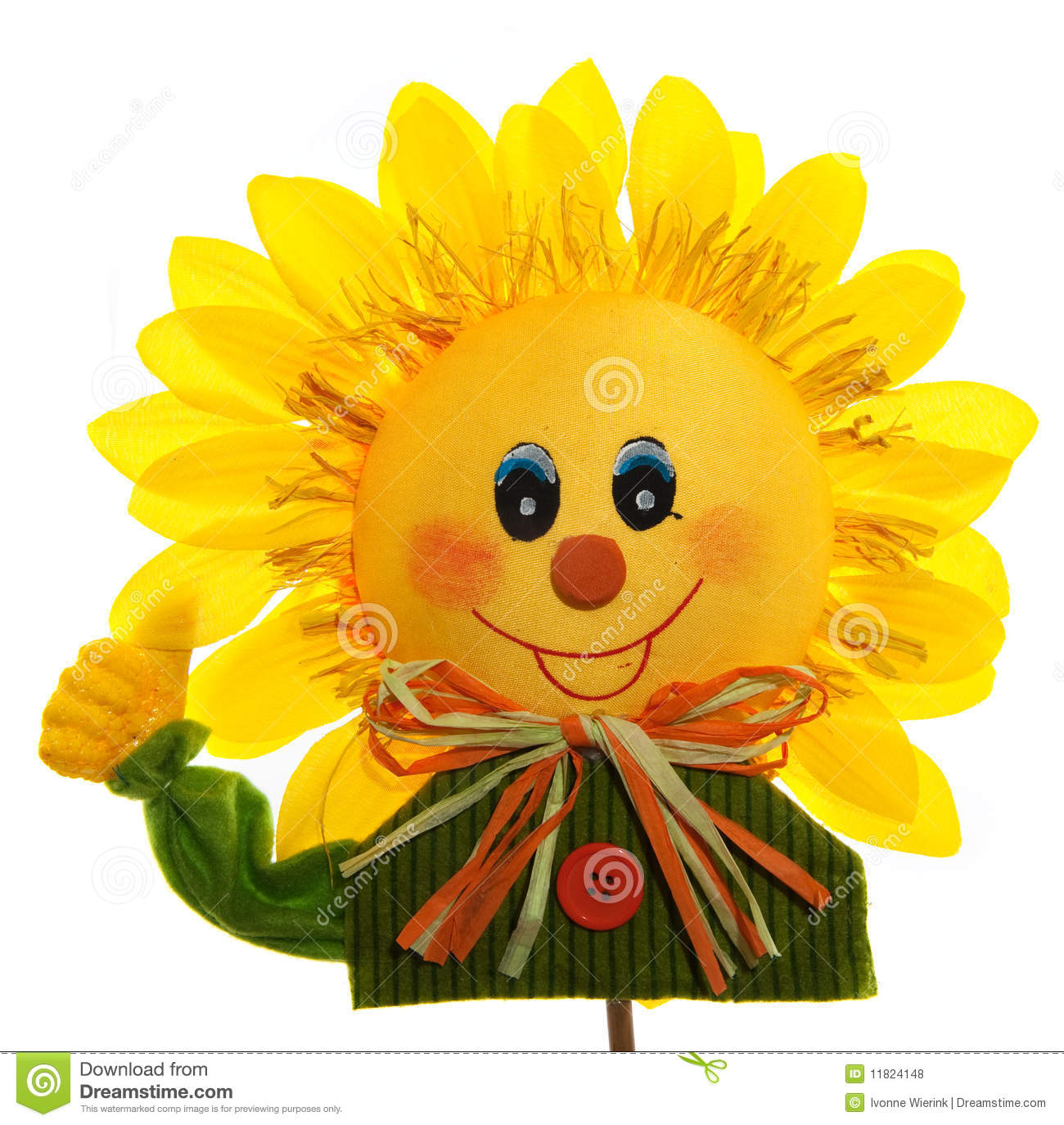 Smiling Sunflower Royalty Free Stock Photos - Image: 11824148