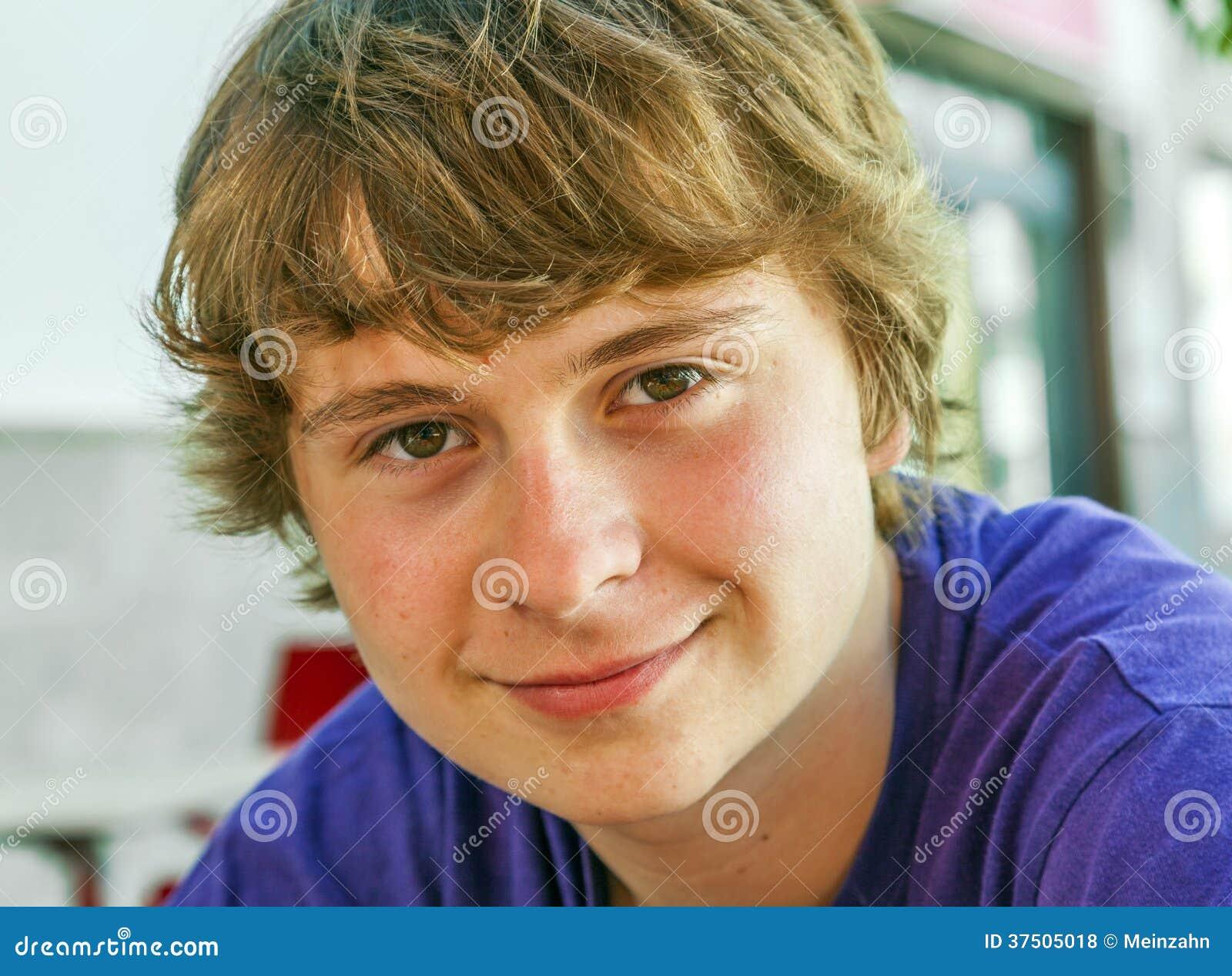 boy Blonde teen