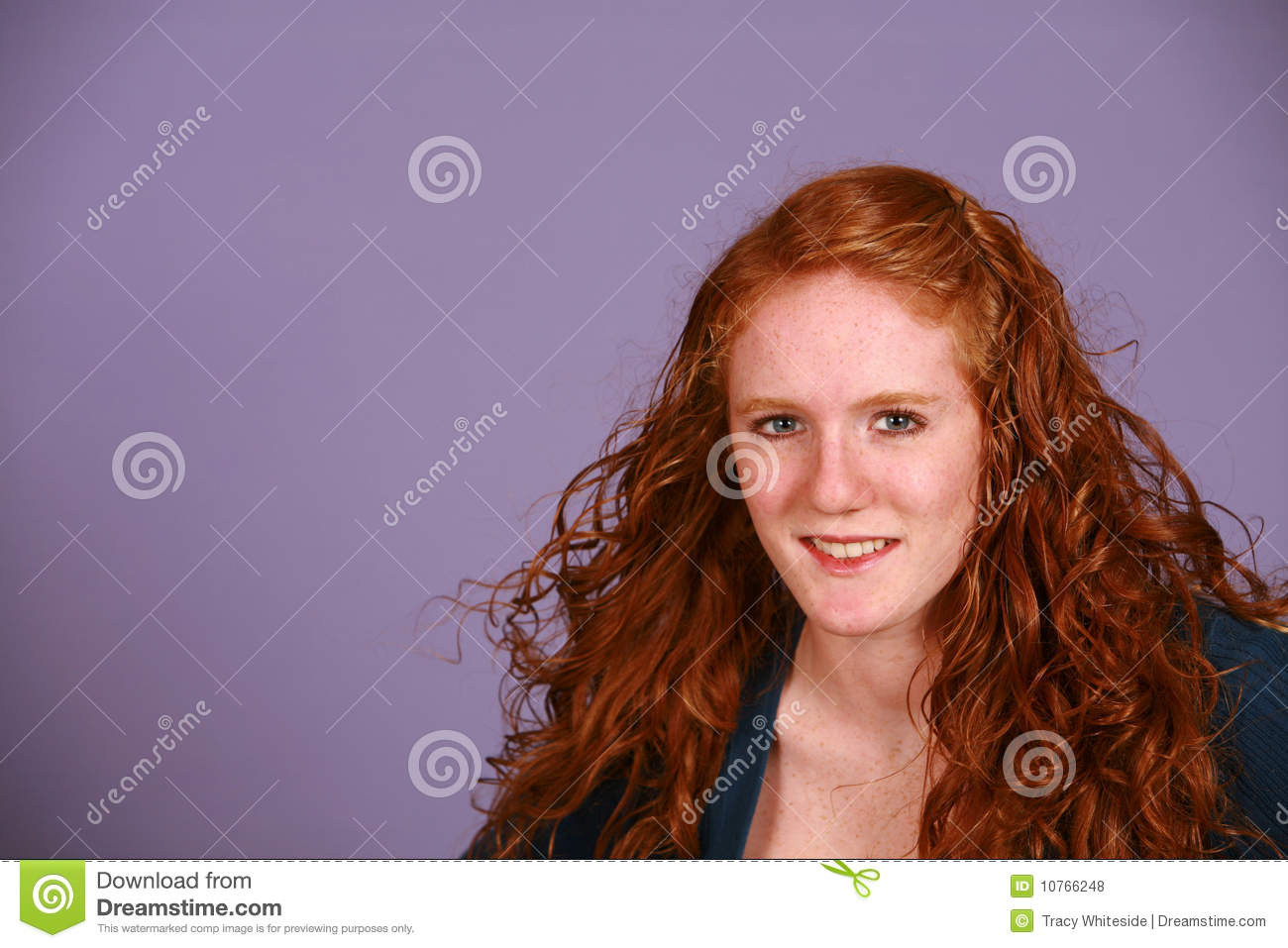 Pussy red head teen facial