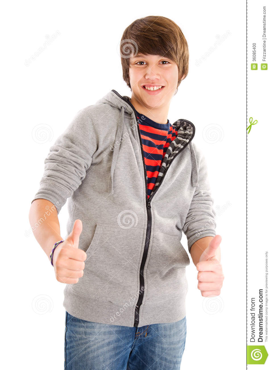 Smiling teenage boy with thumbs up stock photo image of reading male 36085400 - Image of teen ...