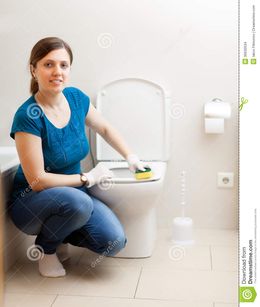 woman cleaning toilet hot girls wallpaper