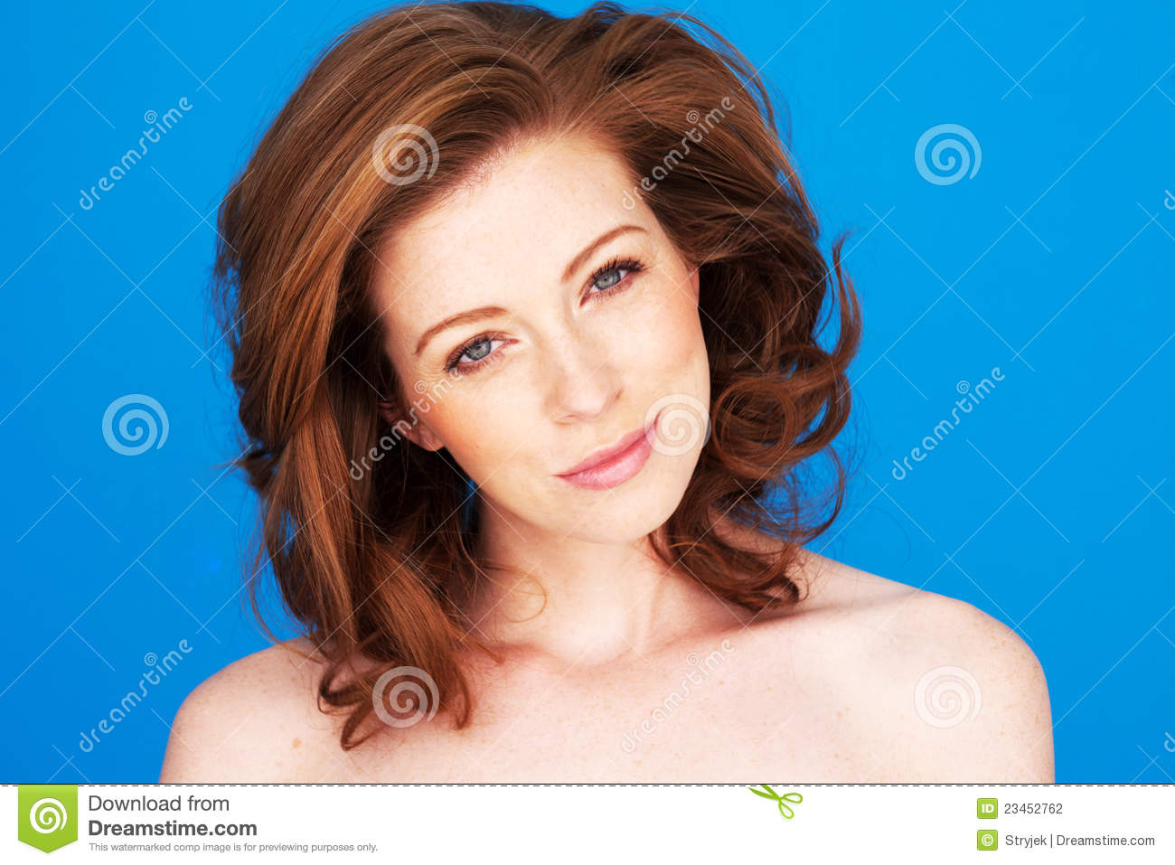 Smiling Woman With Tilted Head Stock Photography - Image ...