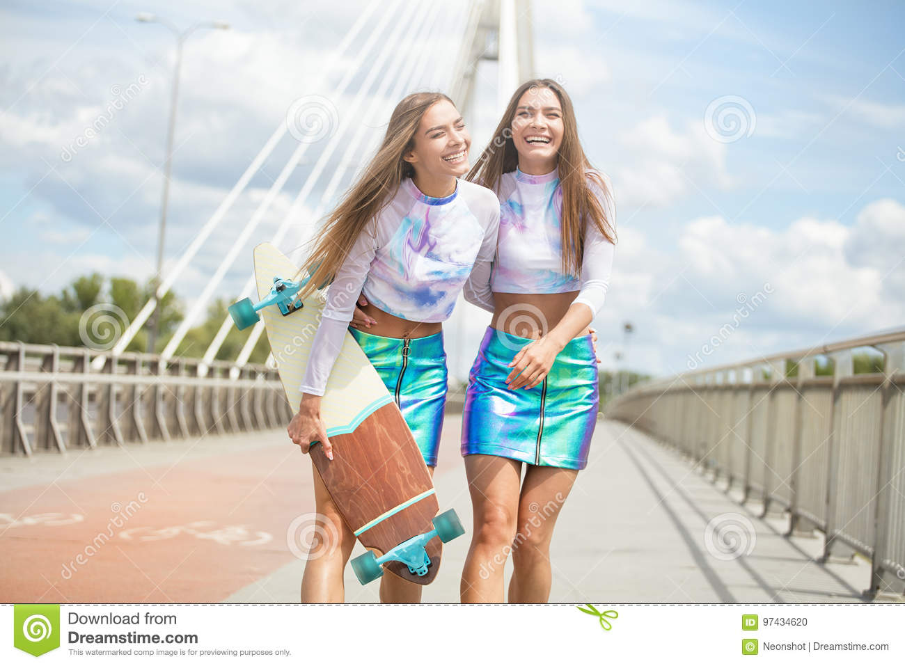 Variant young teen female models seems