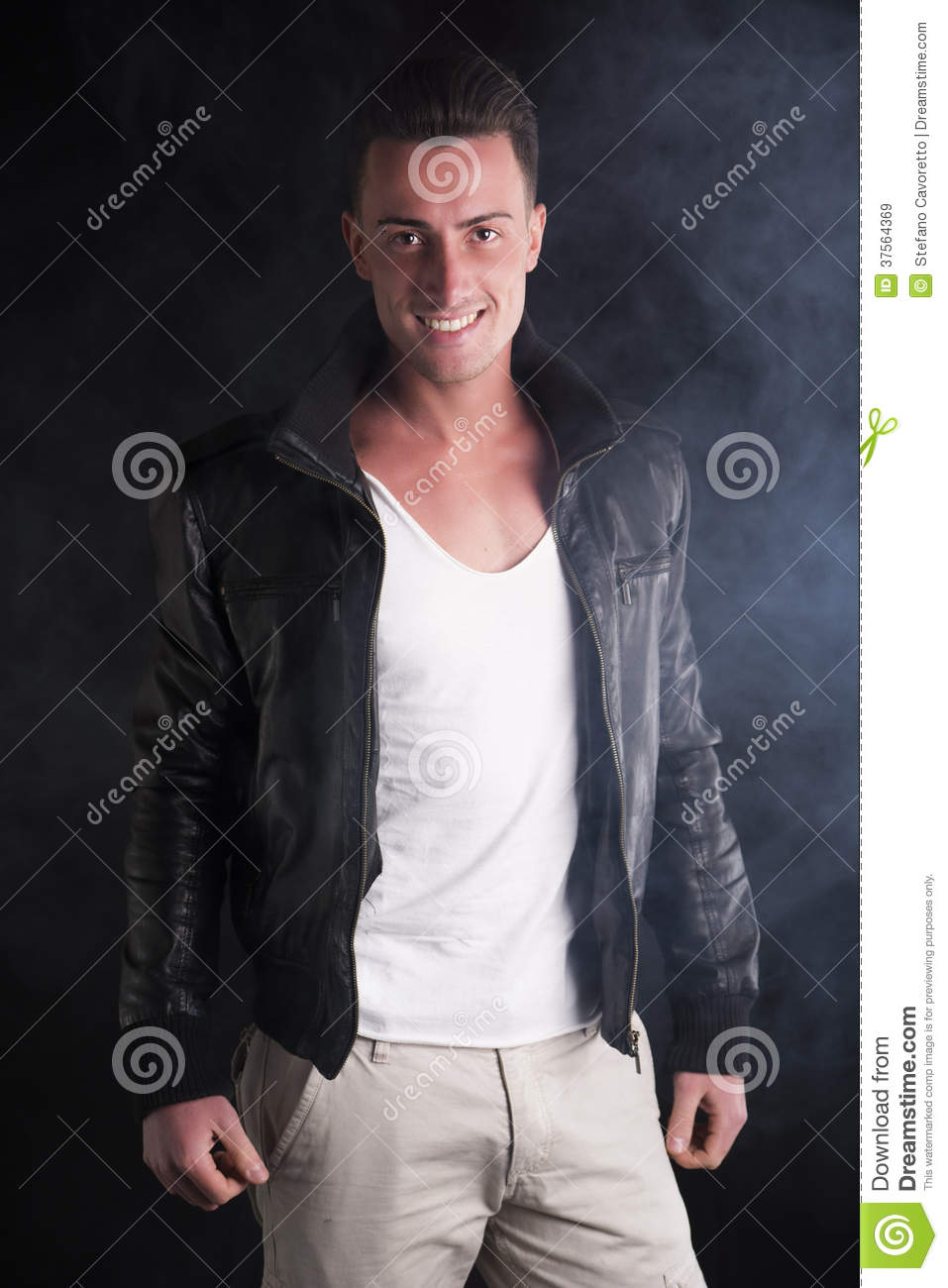 White t shirt leather jacket jacket to for Leather jacket and shirt