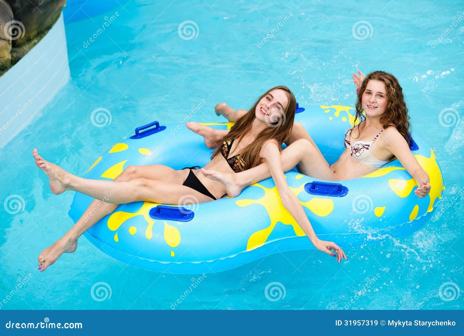 Water slide bikini tube