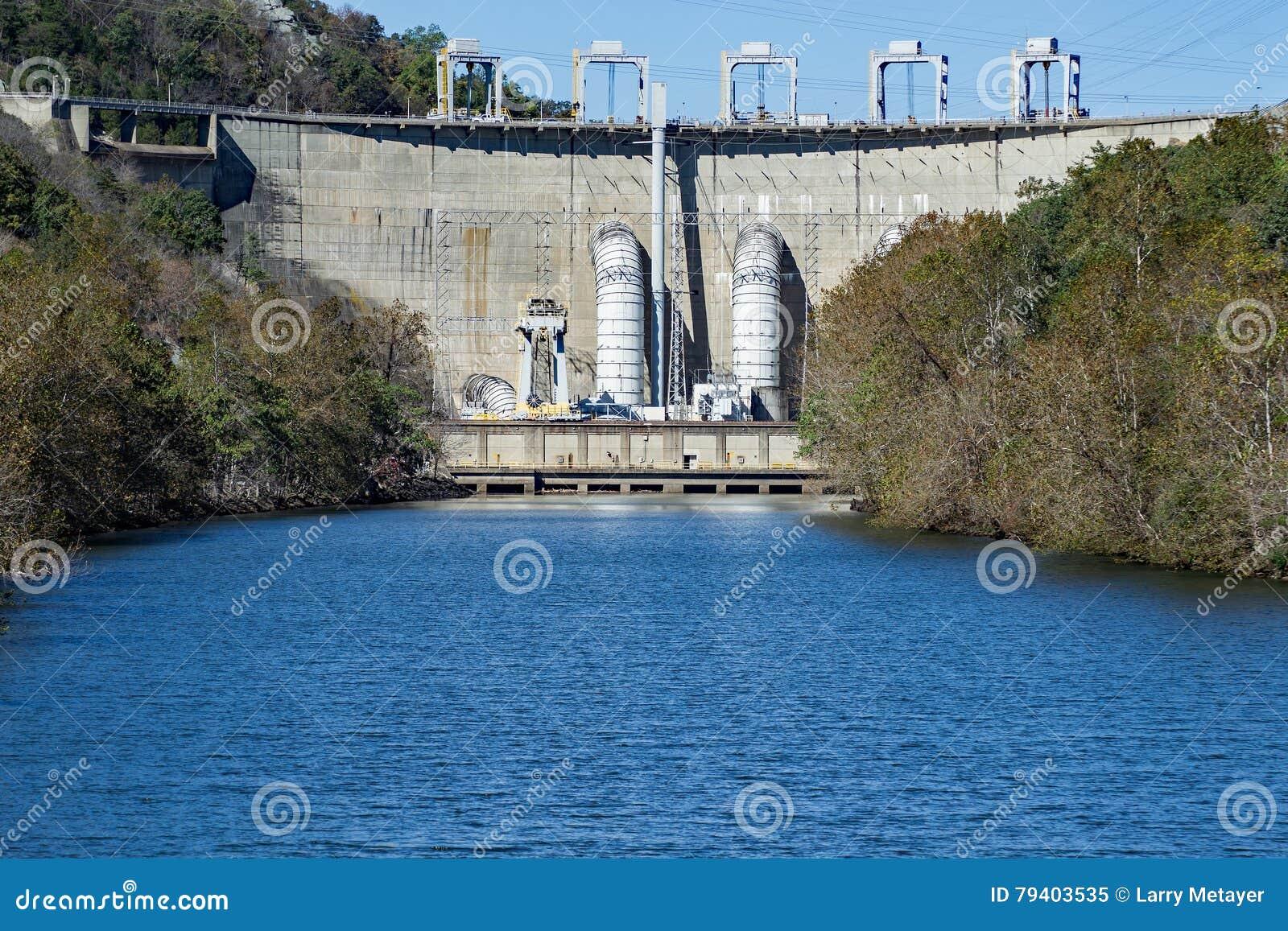 Smith Mountain Dam, Penhook, VA, de V.S.